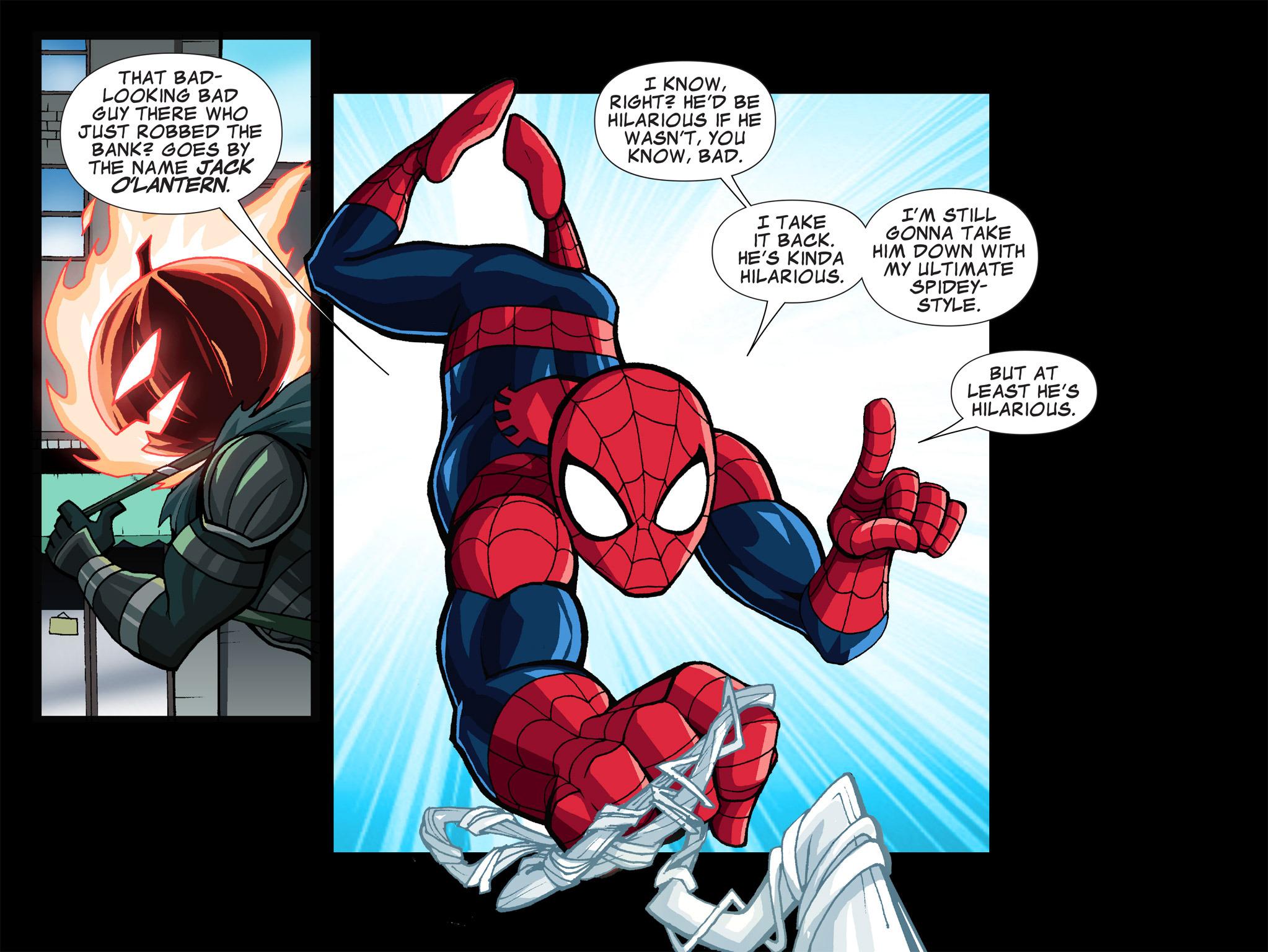 Read online Ultimate Spider-Man (Infinite Comics) (2015) comic -  Issue #1 - 8