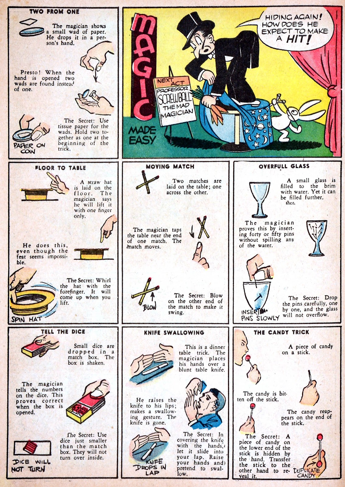 Read online Famous Funnies comic -  Issue #68 - 64