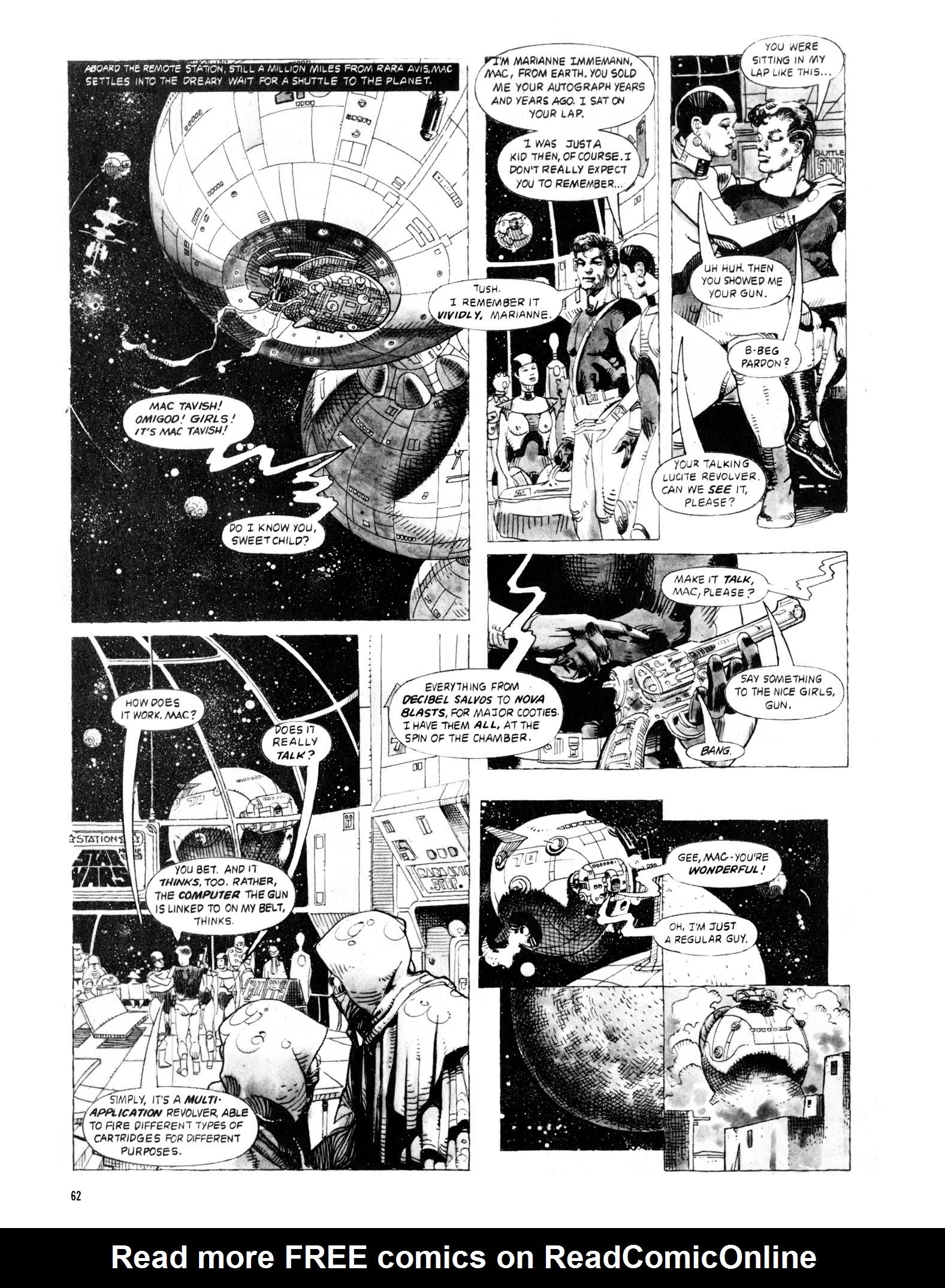 Read online Eerie Archives comic -  Issue # TPB 20 - 62