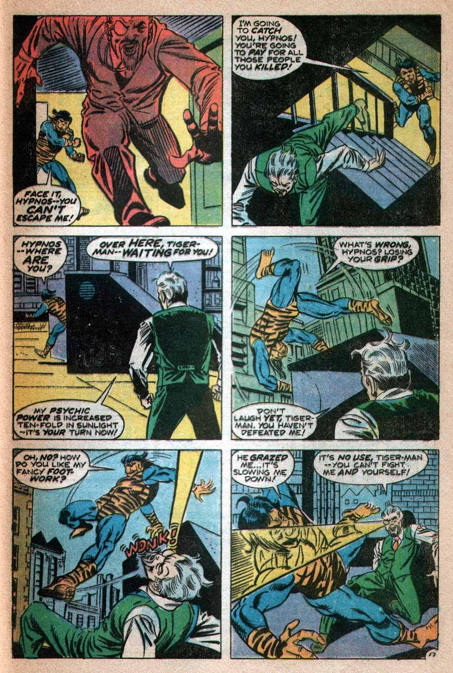 Read online Tiger-Man comic -  Issue #3 - 18