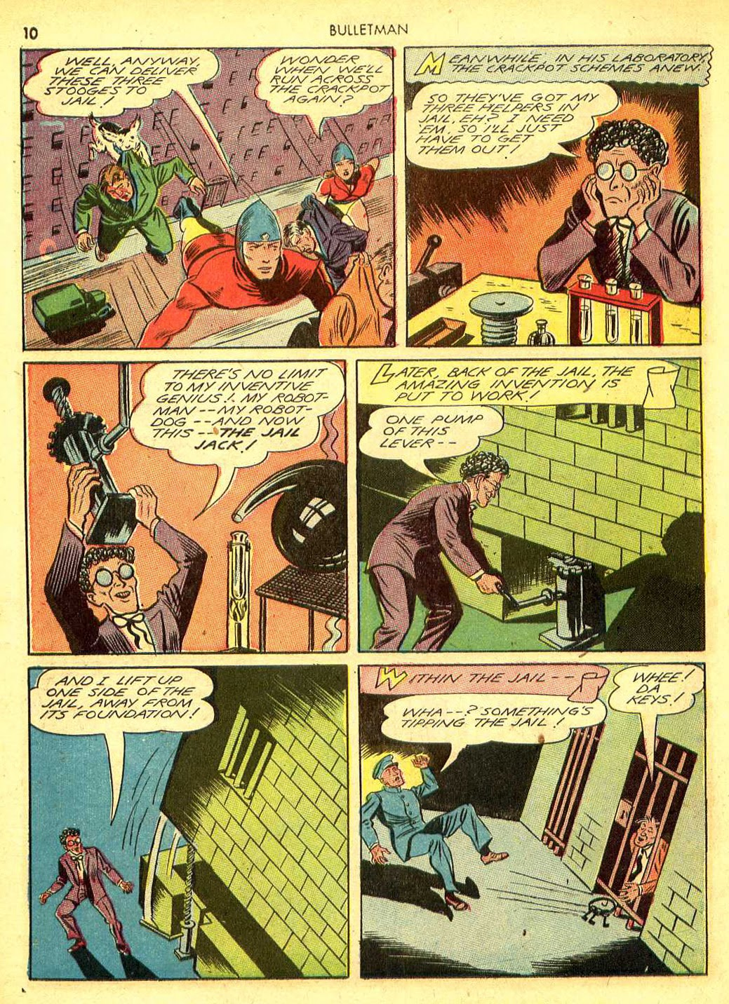 Bulletman issue 12 - Page 9