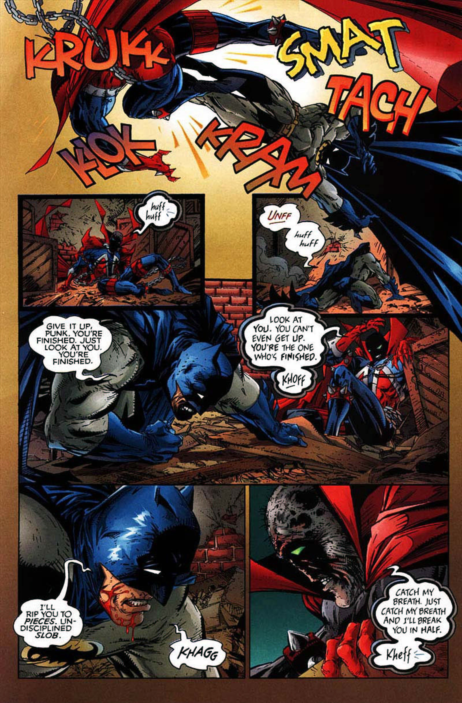 Read online Spawn-Batman comic -  Issue # Full - 37
