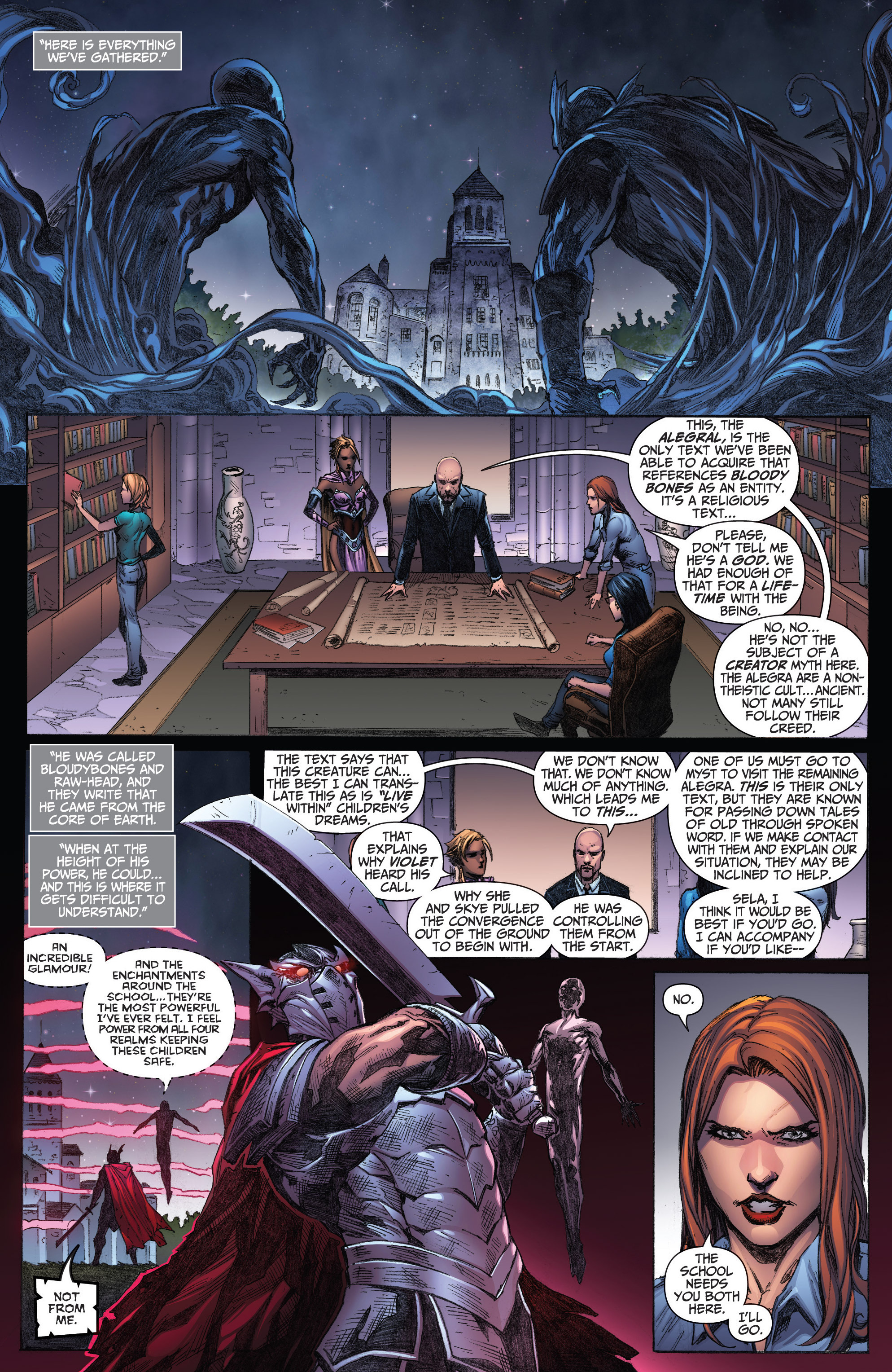 Read online Grimm Fairy Tales: Arcane Acre comic -  Issue # TPB 3 - 82