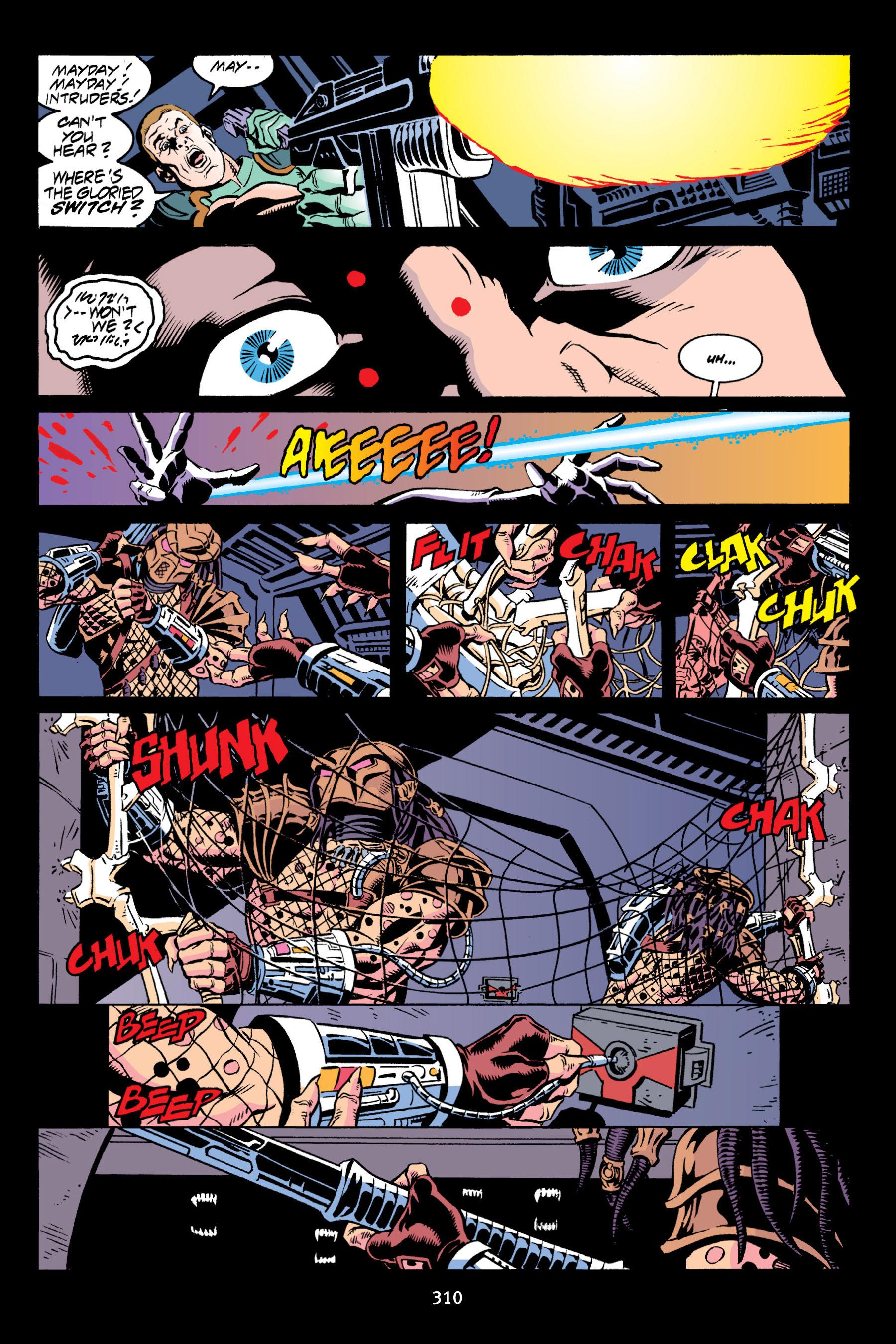 Read online Aliens vs. Predator Omnibus comic -  Issue # _TPB 2 Part 3 - 85