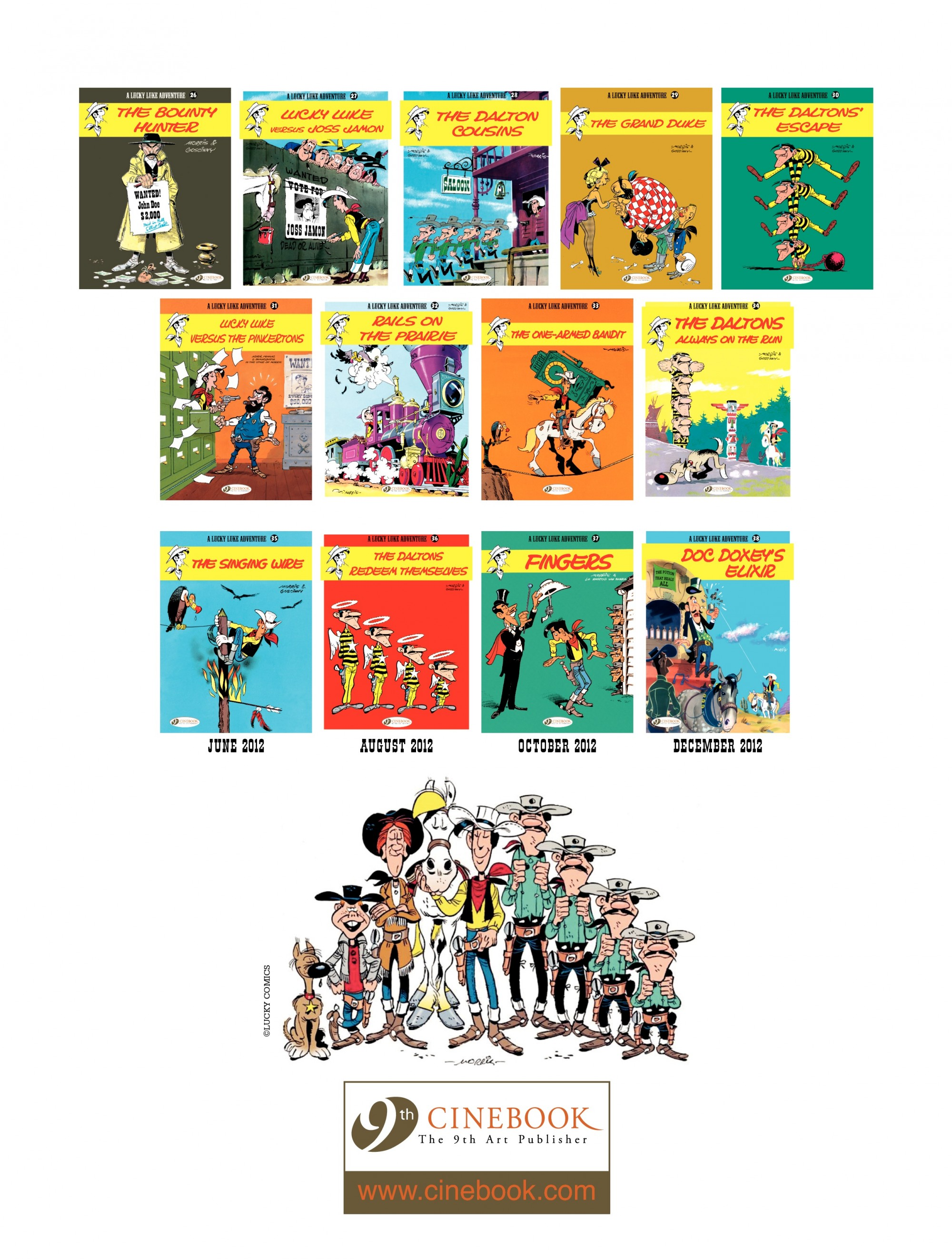Read online A Lucky Luke Adventure comic -  Issue #34 - 48