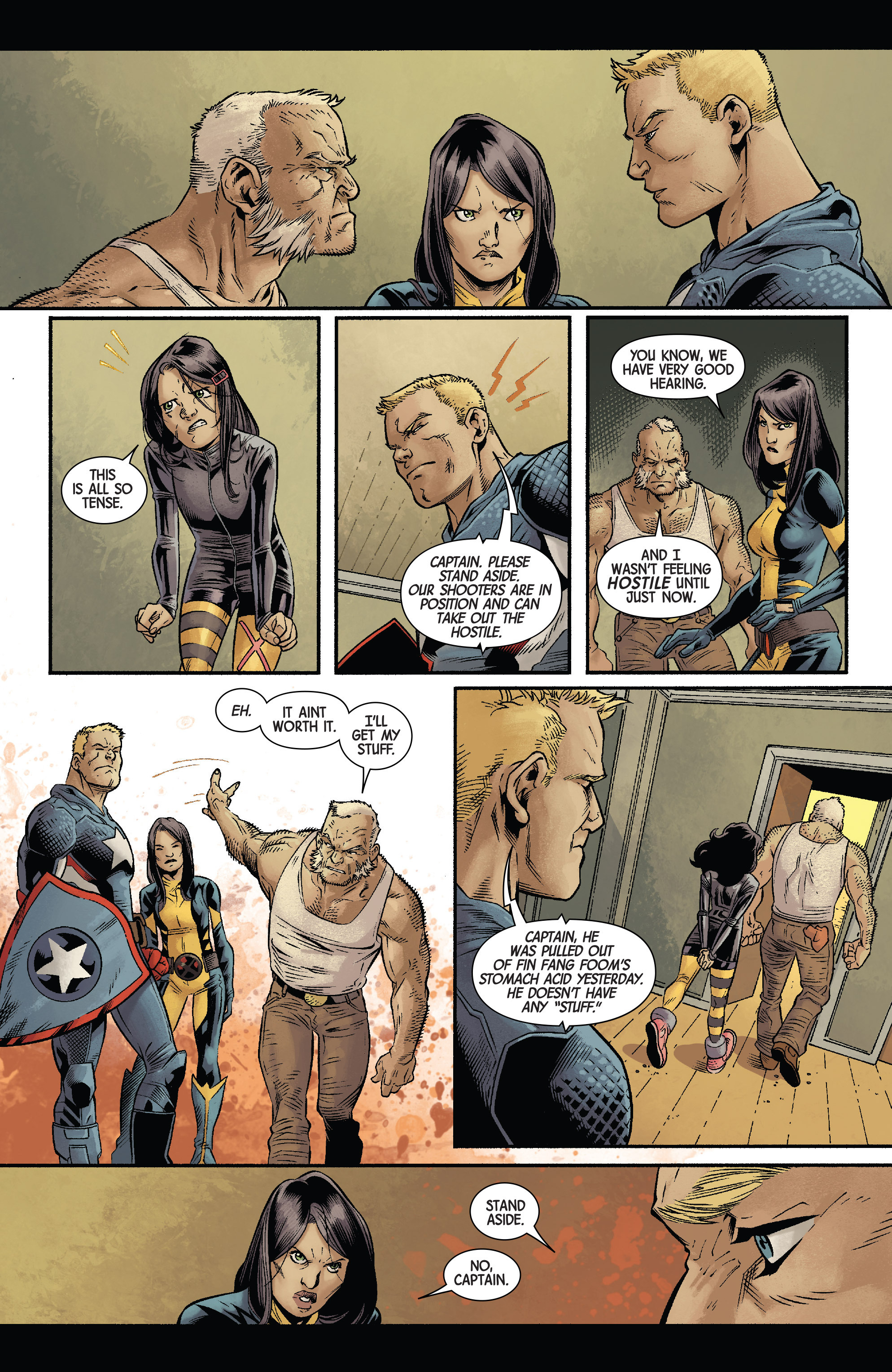 Read online All-New Wolverine (2016) comic -  Issue #11 - 7