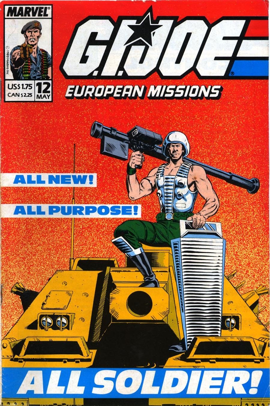 G.I. Joe European Missions issue 12 - Page 1