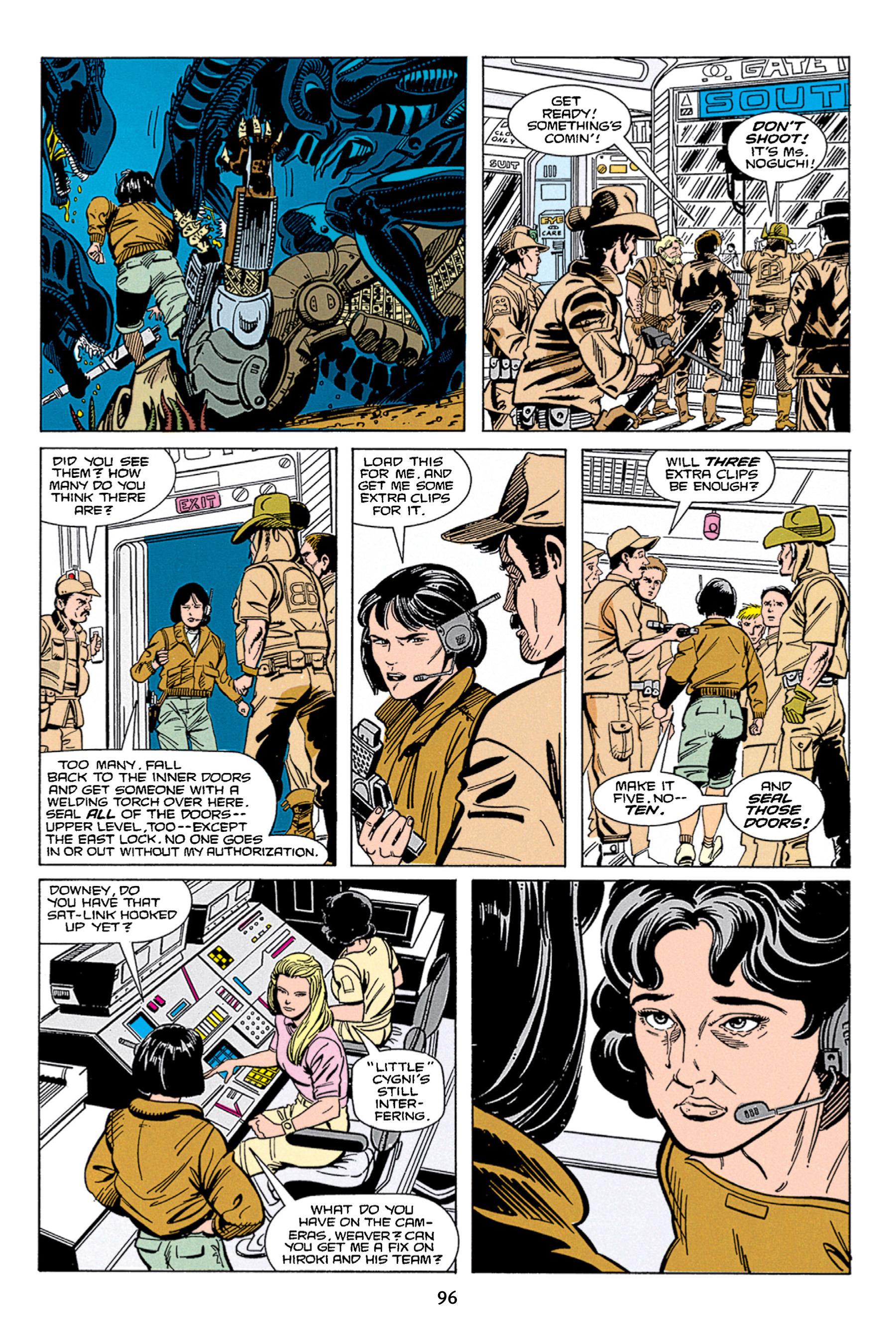 Read online Aliens vs. Predator Omnibus comic -  Issue # _TPB 1 Part 1 - 96