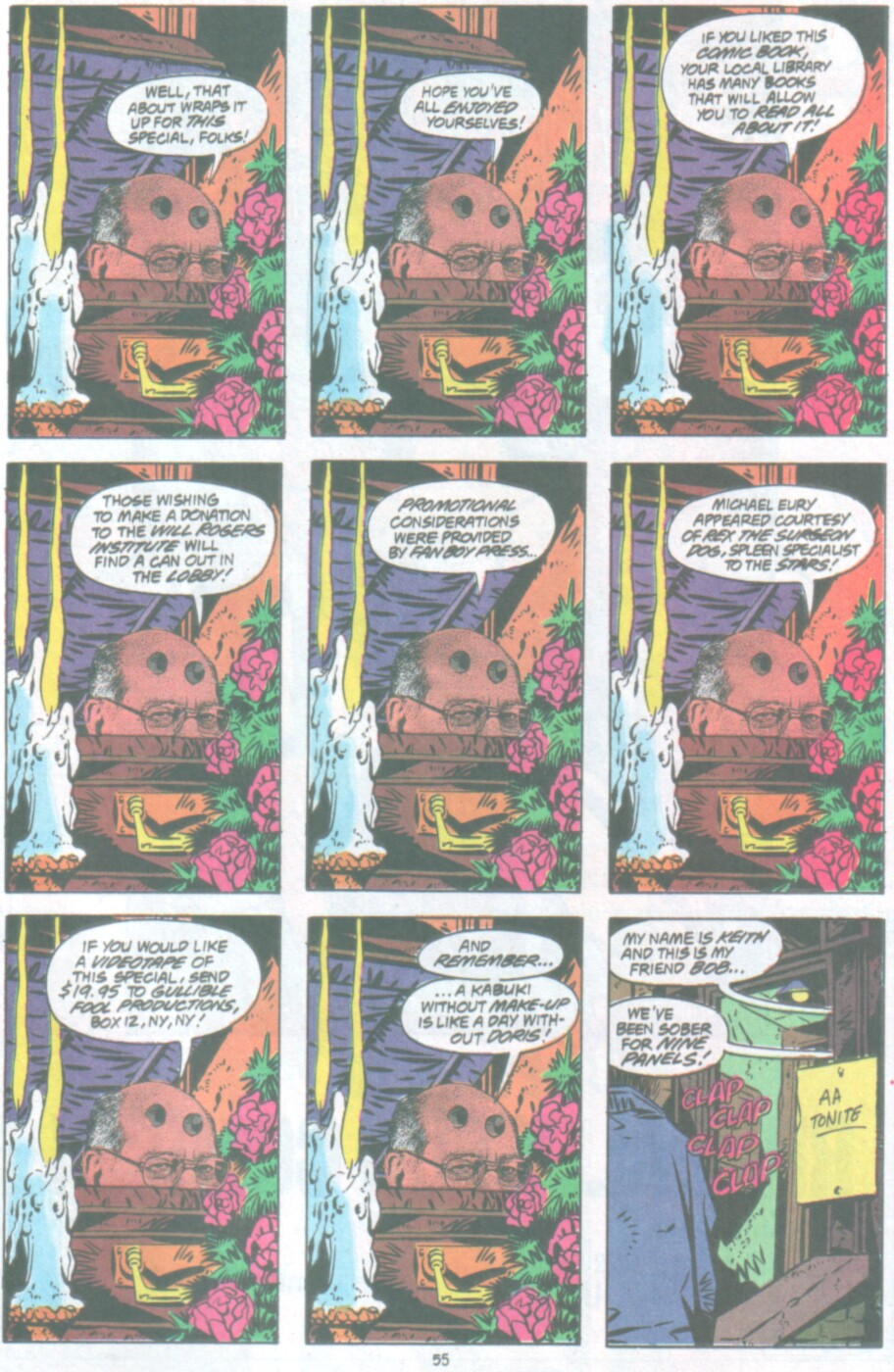 Read online Ambush Bug Nothing Special comic -  Issue # Full - 48