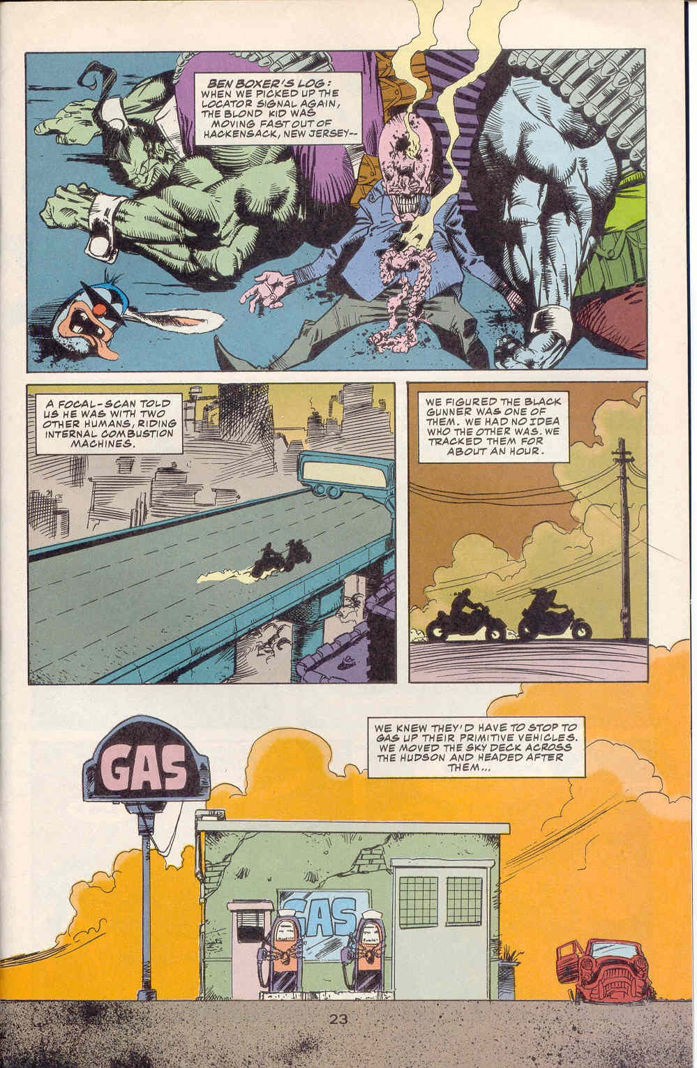 Read online Kamandi: At Earth's End comic -  Issue #2 - 24