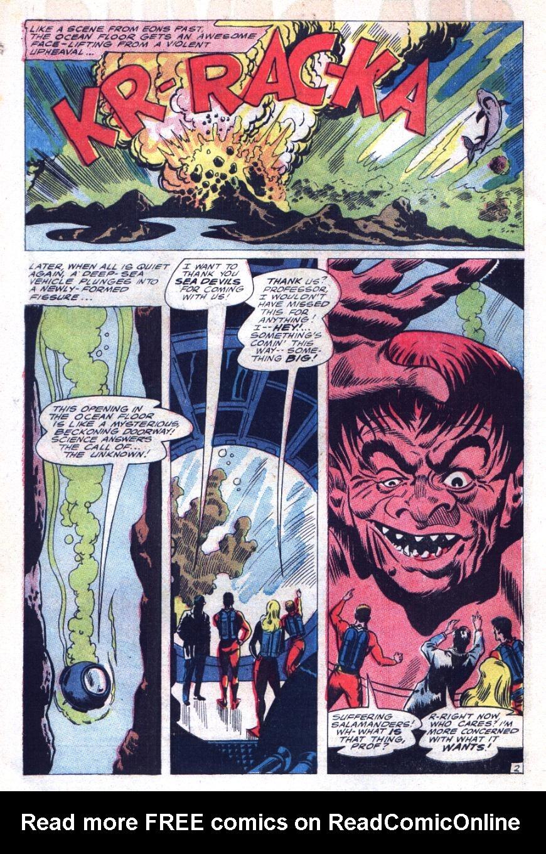 Read online Sea Devils comic -  Issue #29 - 5