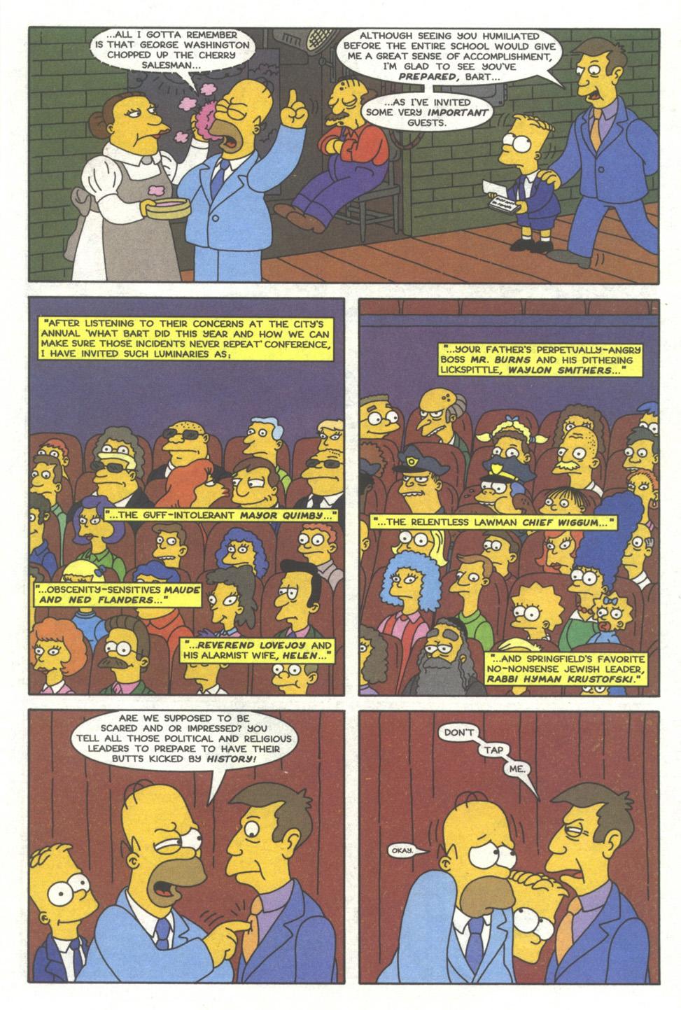 Read online Simpsons Comics comic -  Issue #39 - 8