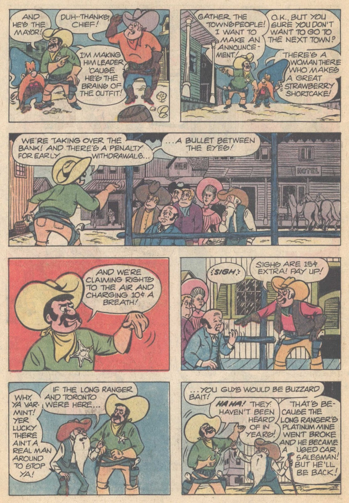 Yosemite Sam and Bugs Bunny issue 45 - Page 4