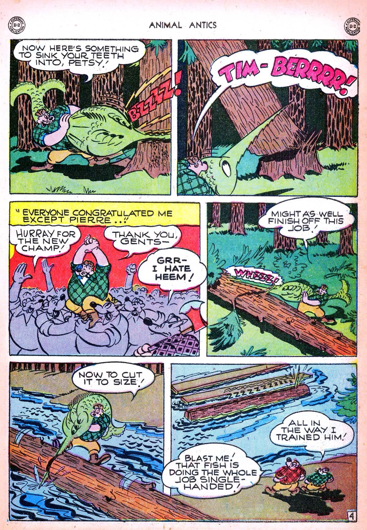 Read online Animal Antics comic -  Issue #6 - 39