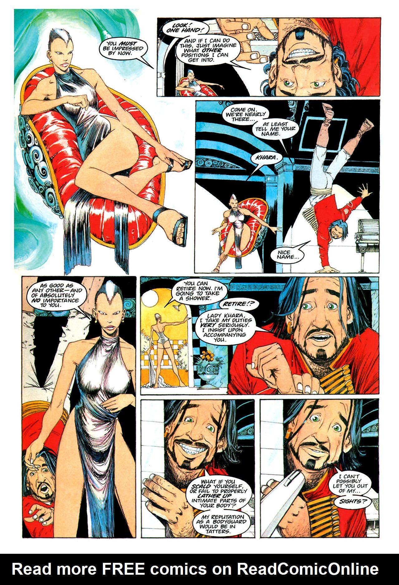 Read online Nikolai Dante comic -  Issue # TPB 1 - 157