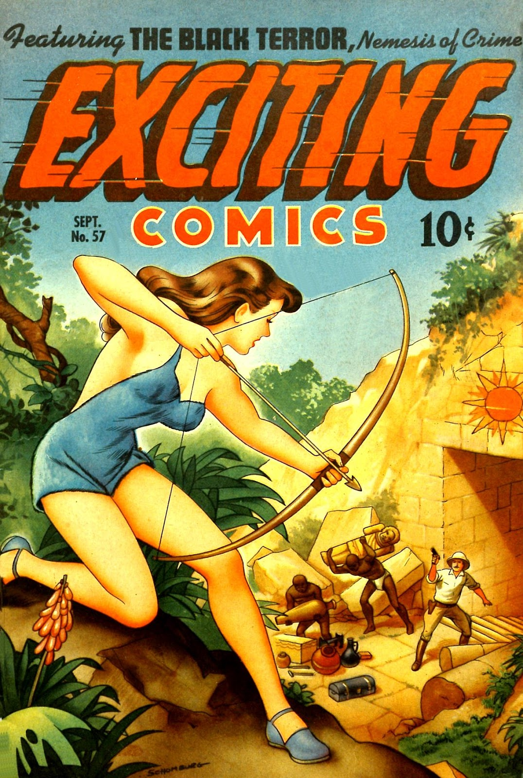 Exciting Comics (1940) issue 57 - Page 1
