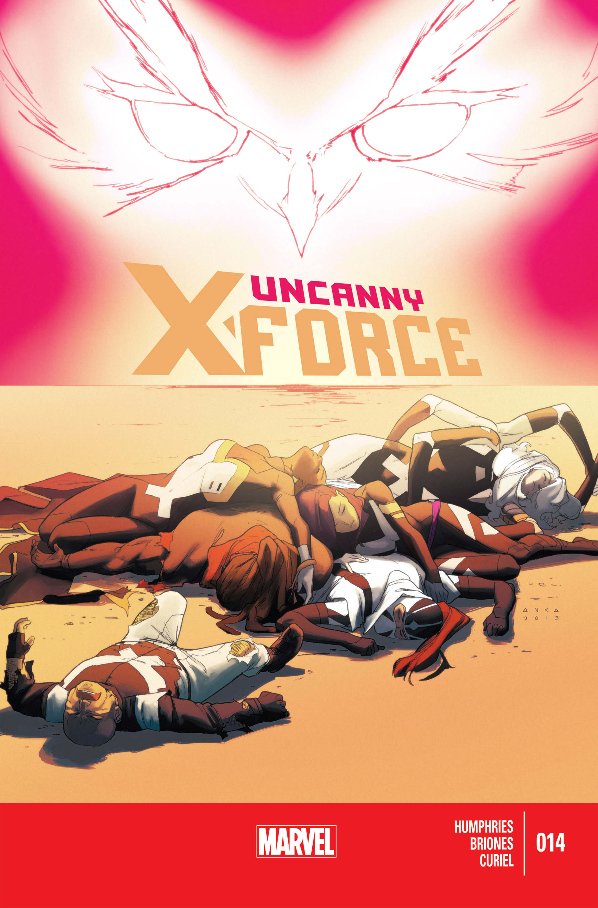 Read online Uncanny X-Force (2013) comic -  Issue #14 - 1