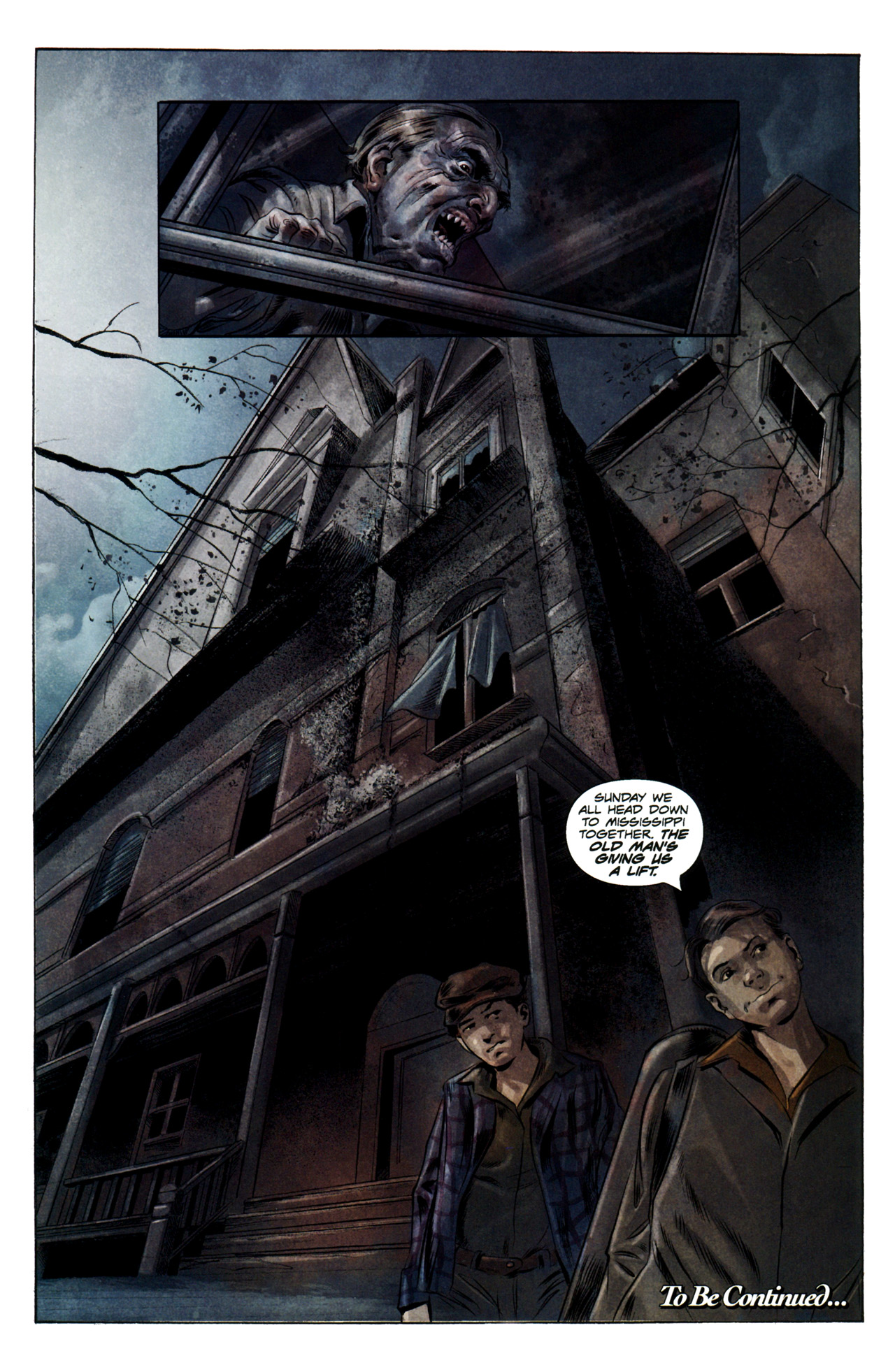 Read online Severed comic -  Issue #3 - 24