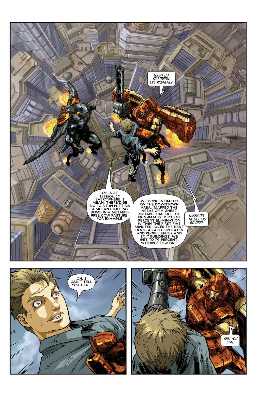 Iron Man: House of M Issue #3 #3 - English 3