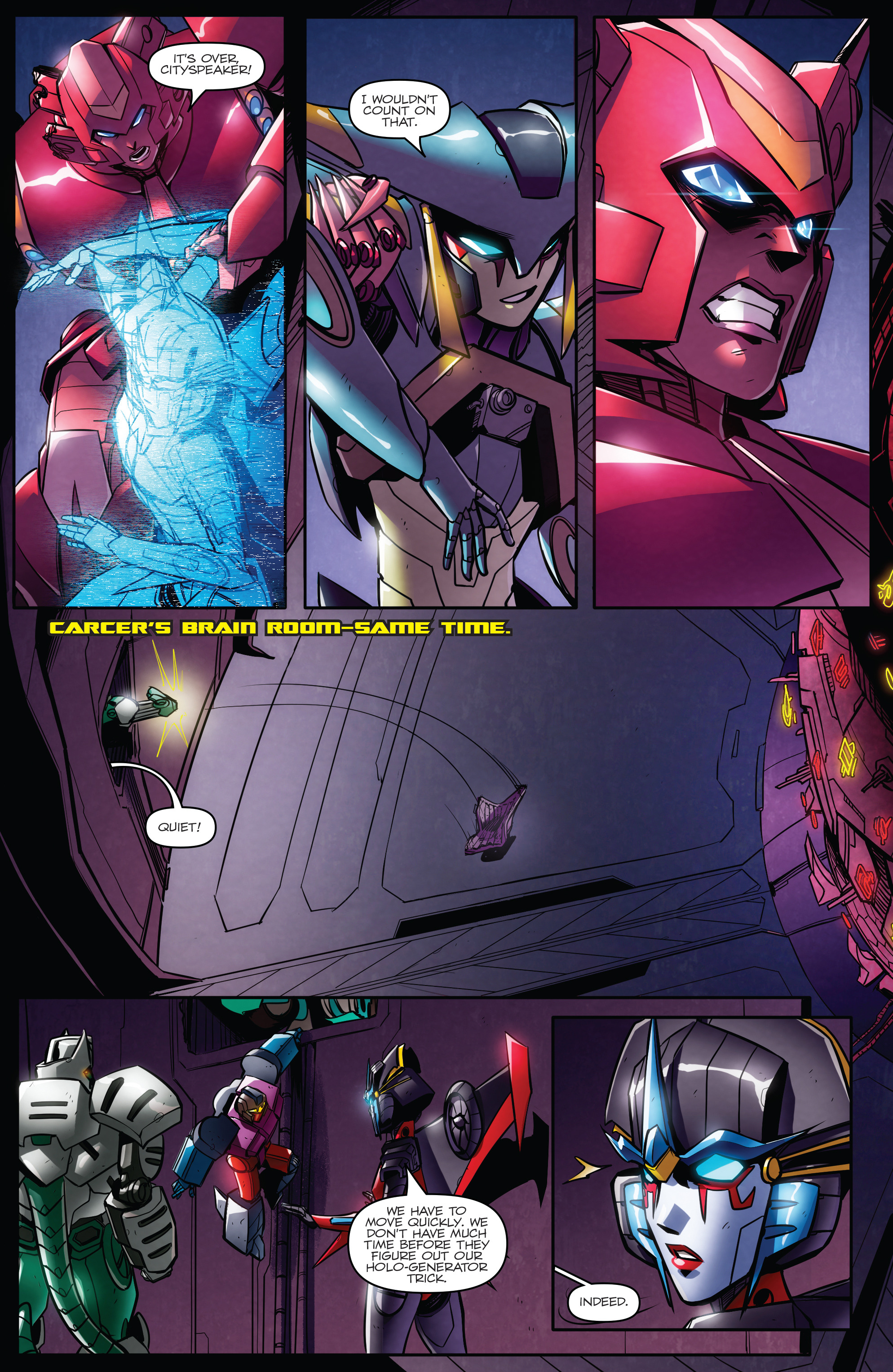 Read online Transformers: Till All Are One comic -  Issue #7 - 19