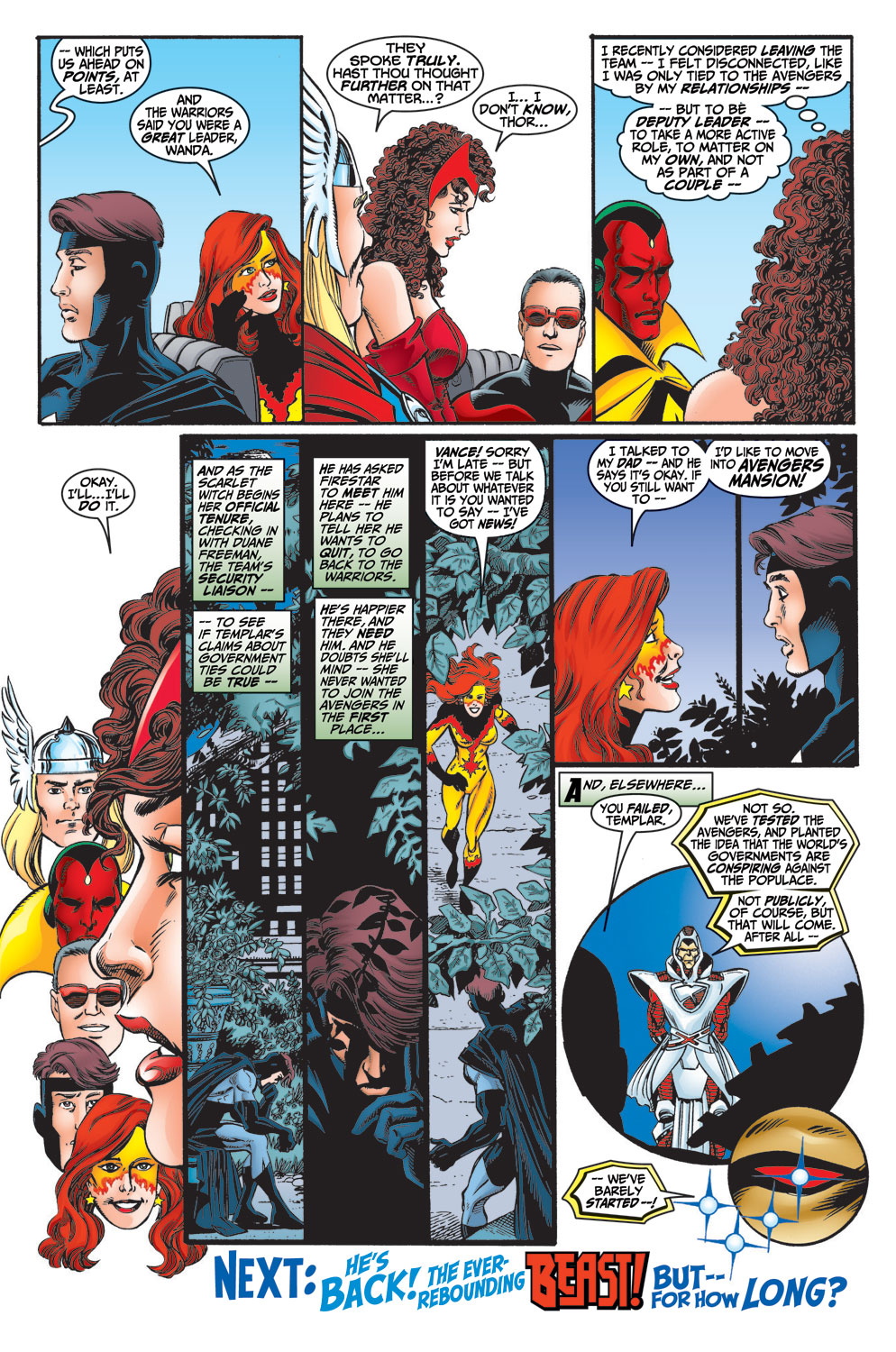 Read online Avengers (1998) comic -  Issue #13 - 23