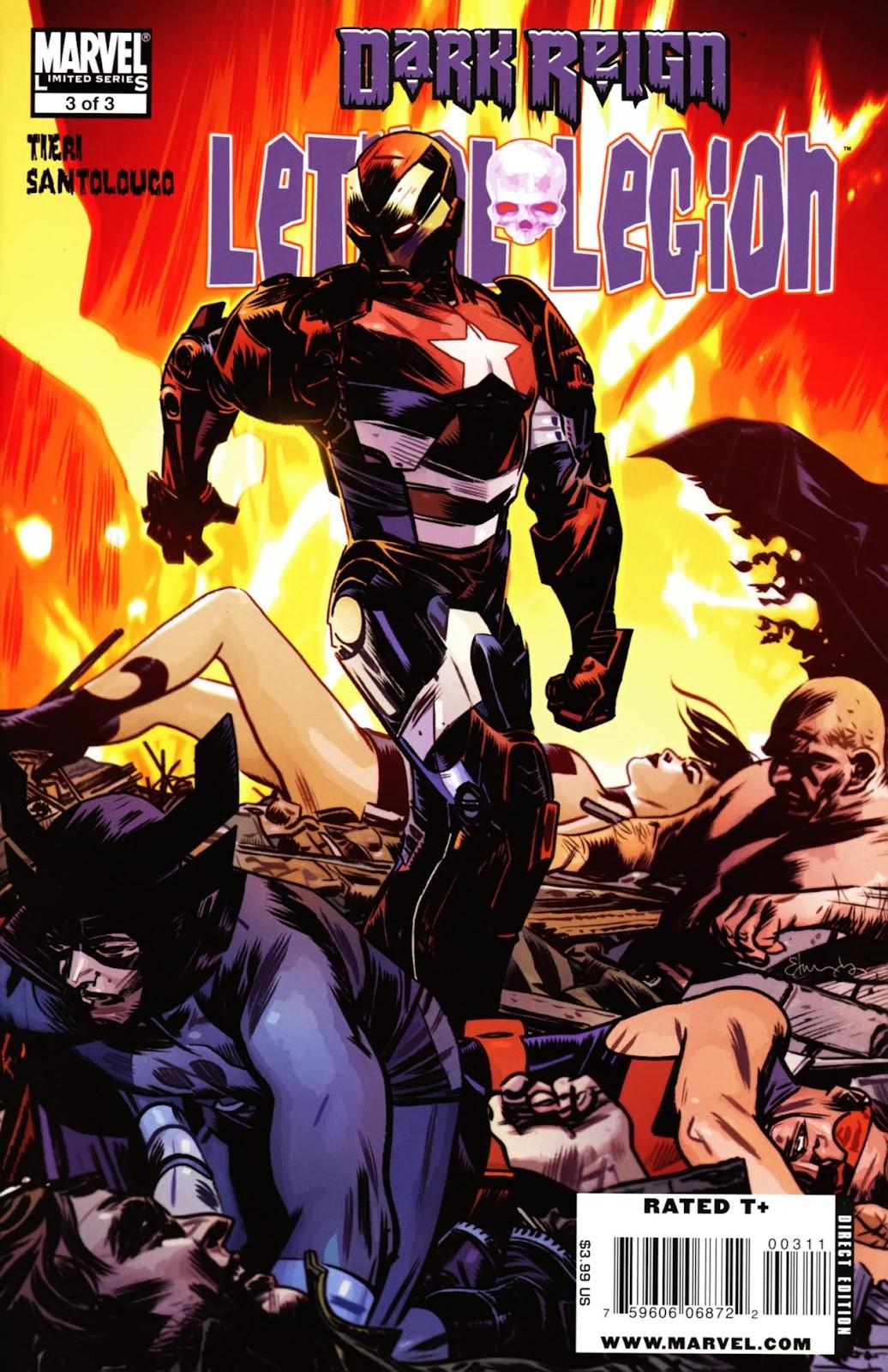 Dark Reign: Lethal Legion issue 3 - Page 1