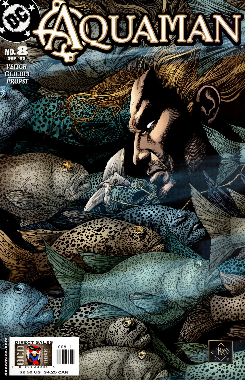 Read online Aquaman (2003) comic -  Issue #8 - 1