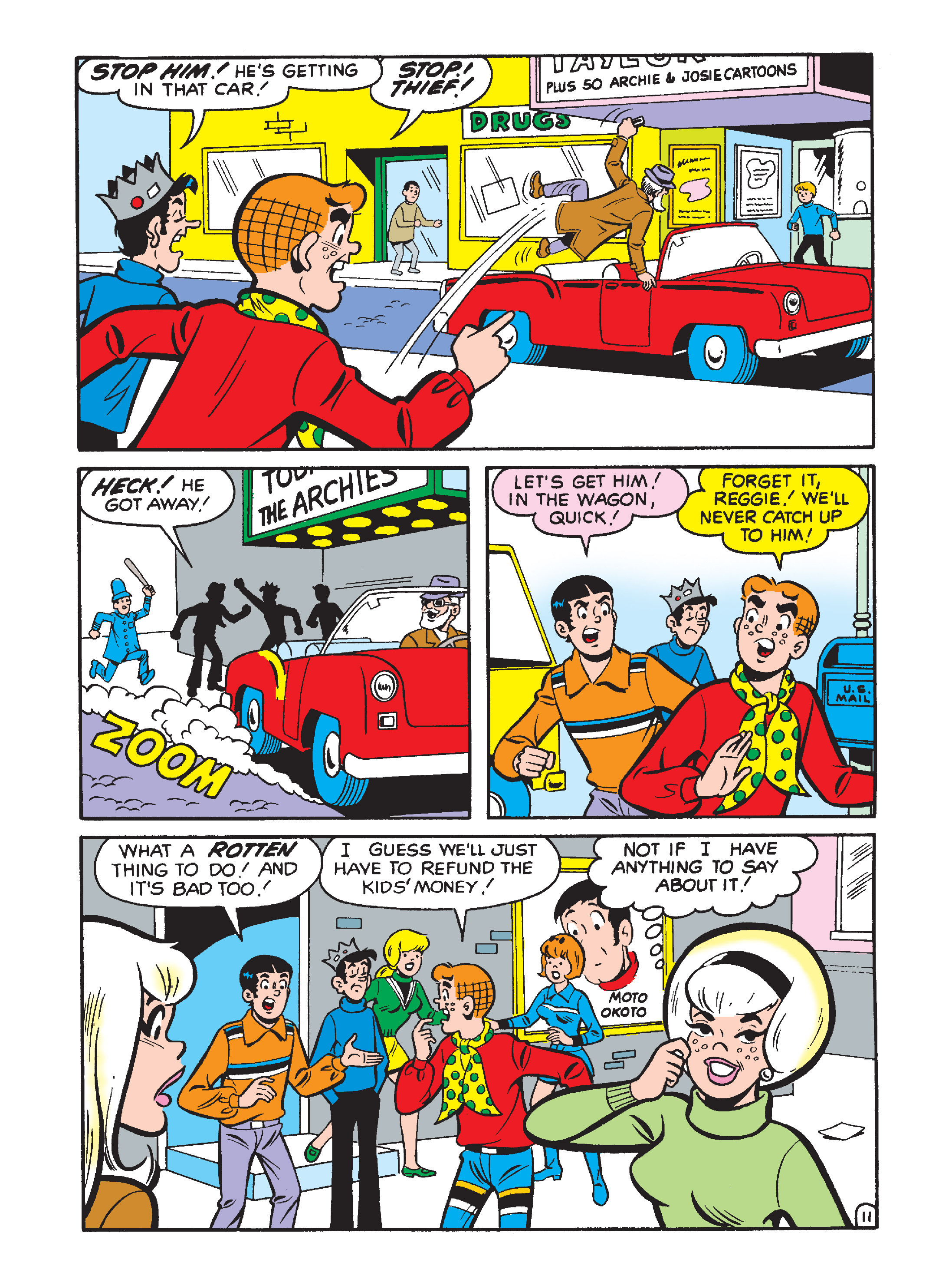 Read online Archie 1000 Page Comics Bonanza comic -  Issue #2 (Part 2) - 129
