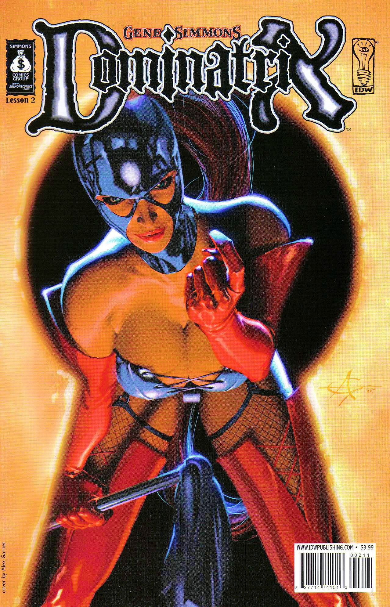 Read online Dominatrix comic -  Issue #2 - 1