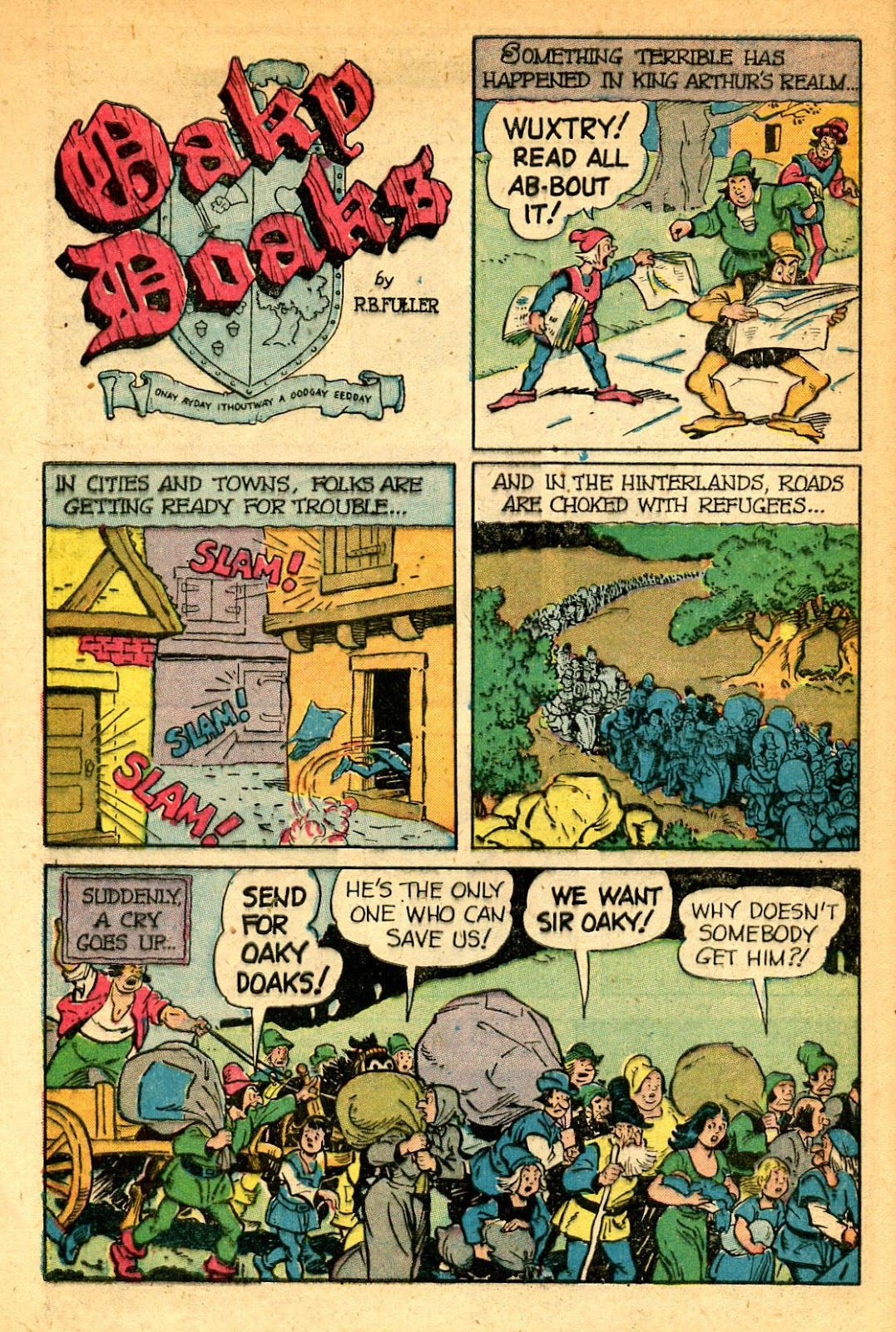Read online Famous Funnies comic -  Issue #178 - 44
