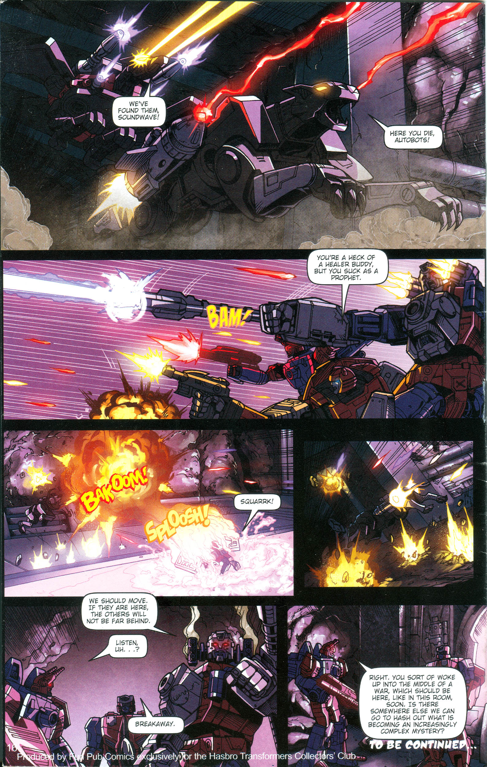 Read online Transformers: Collectors' Club comic -  Issue #16 - 16