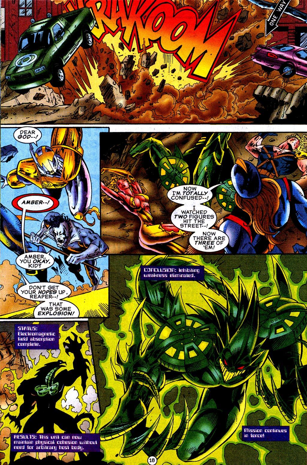 Read online UltraForce (1995) comic -  Issue #12 - 20