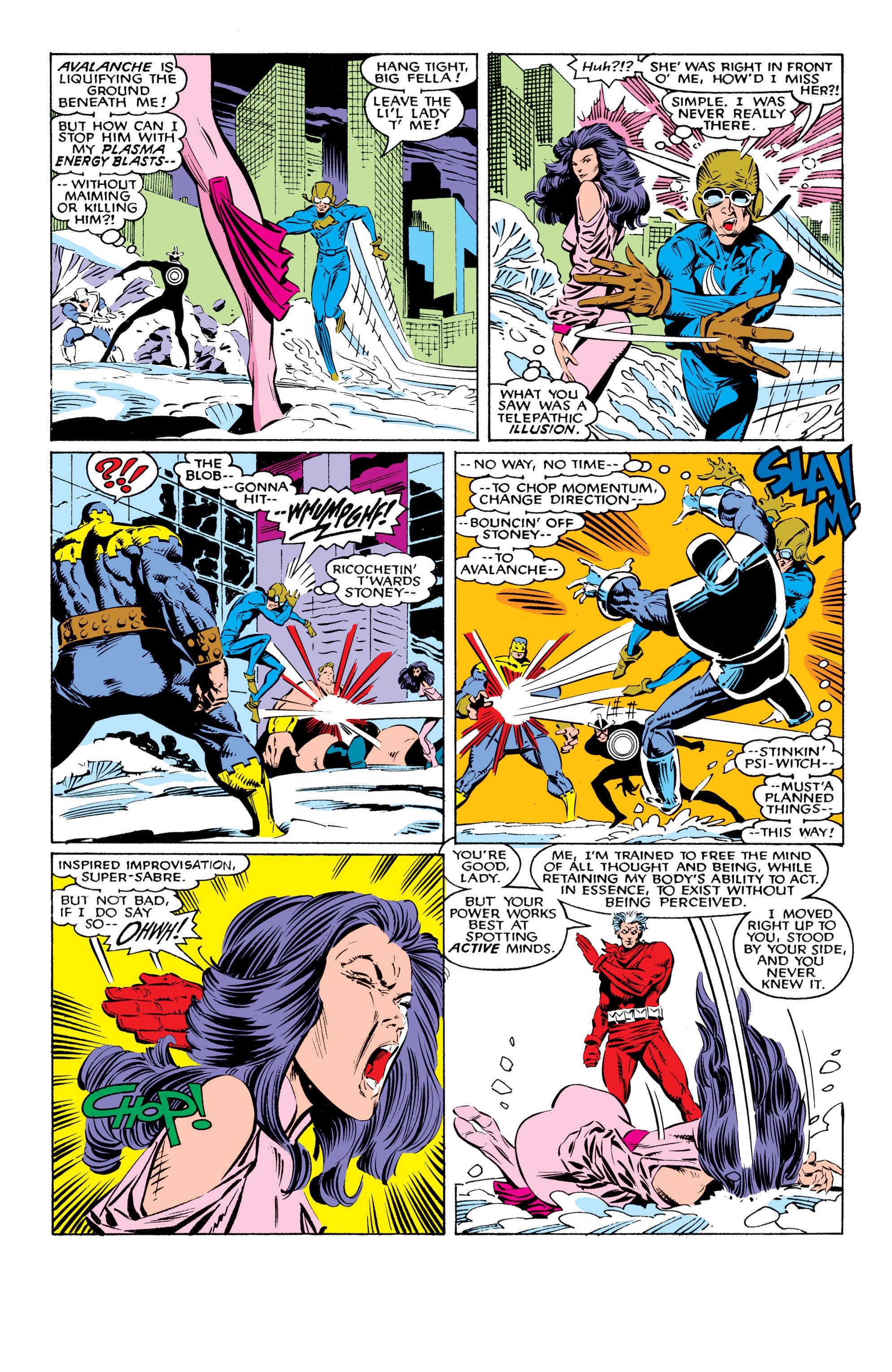 Read online Uncanny X-Men (1963) comic -  Issue #225 - 22