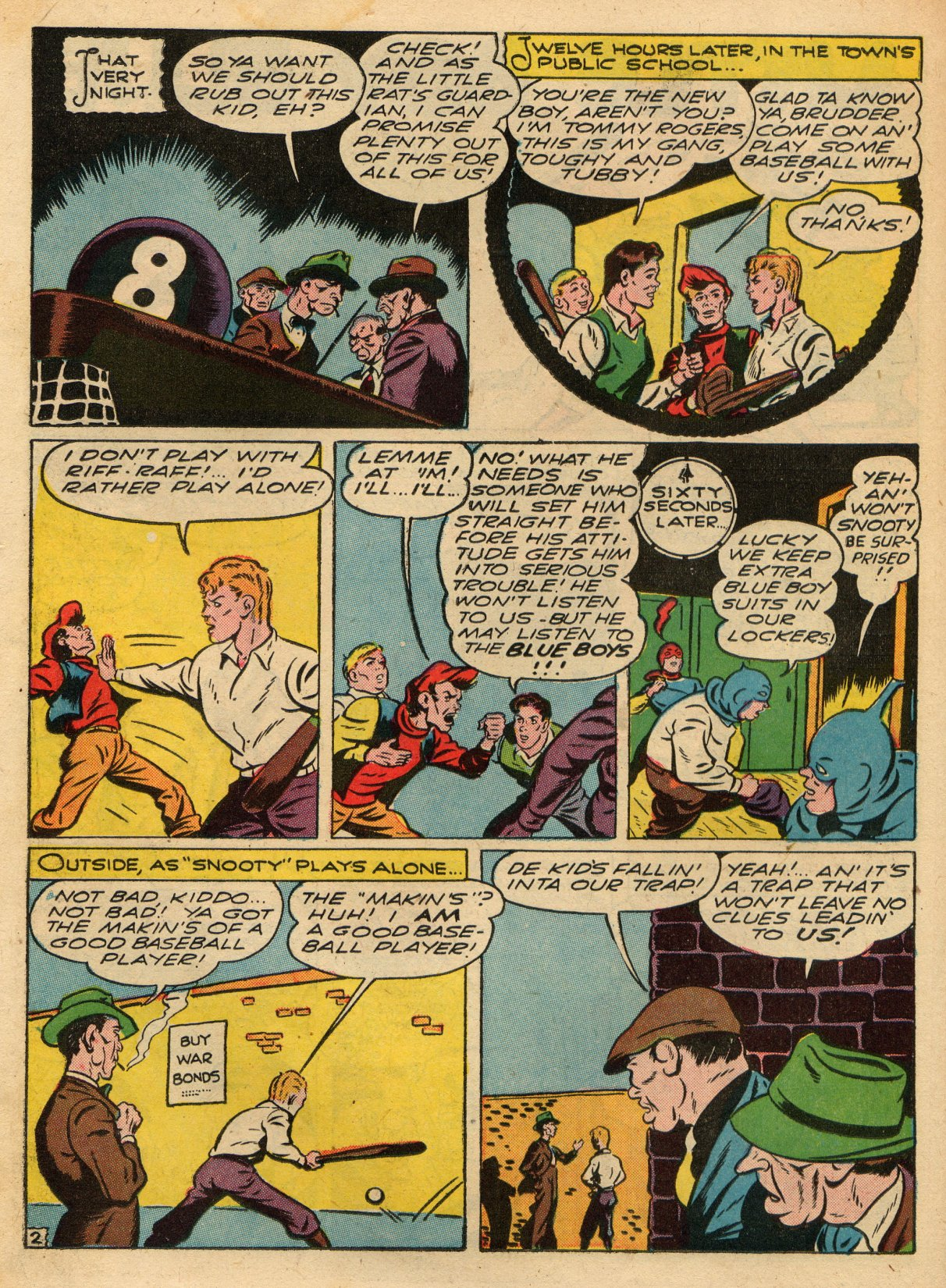 Read online Sensation (Mystery) Comics comic -  Issue #22 - 26