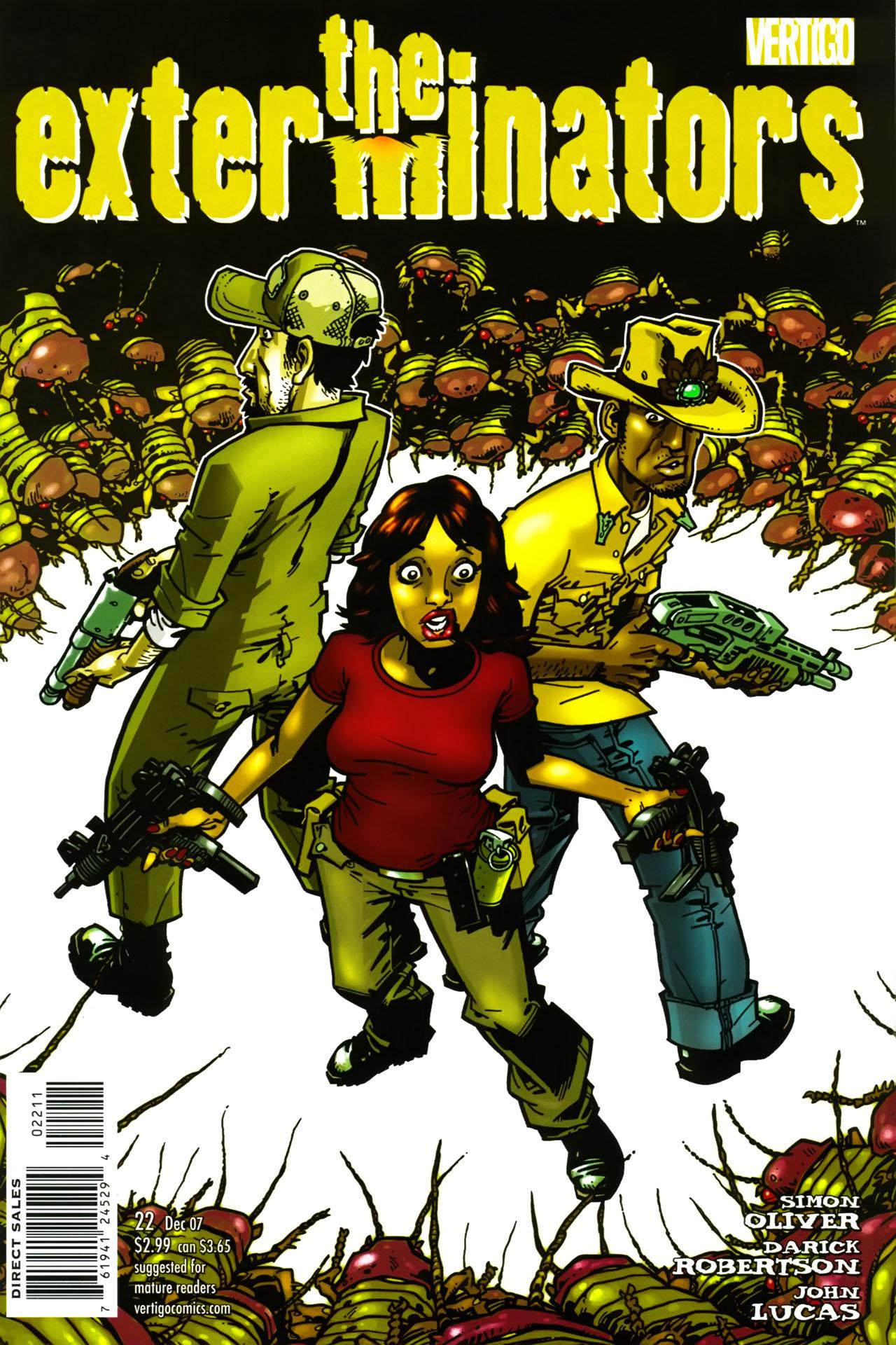 Read online The Exterminators comic -  Issue #22 - 1