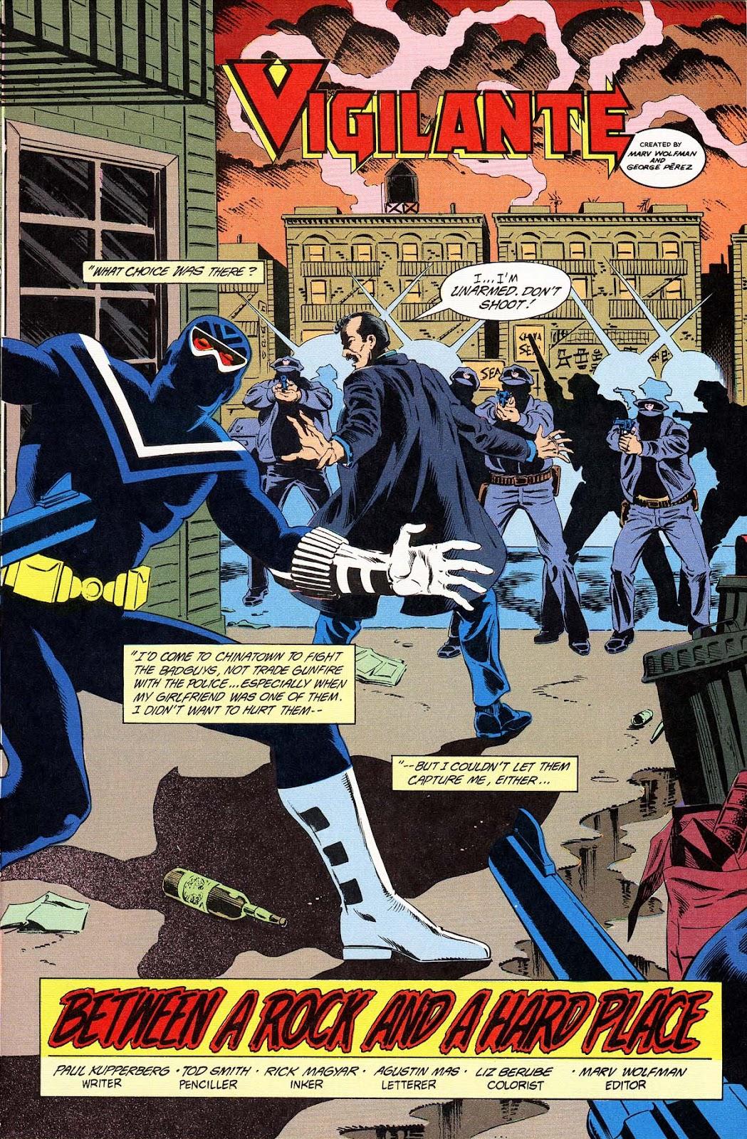 Vigilante (1983) issue 32 - Page 7