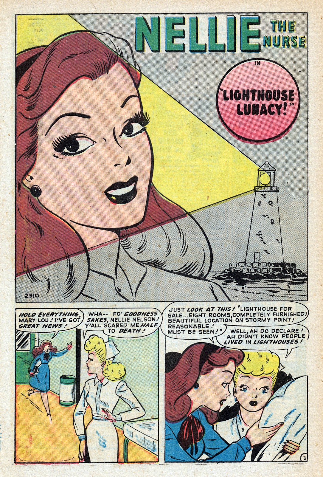 Read online Nellie The Nurse (1945) comic -  Issue #17 - 10