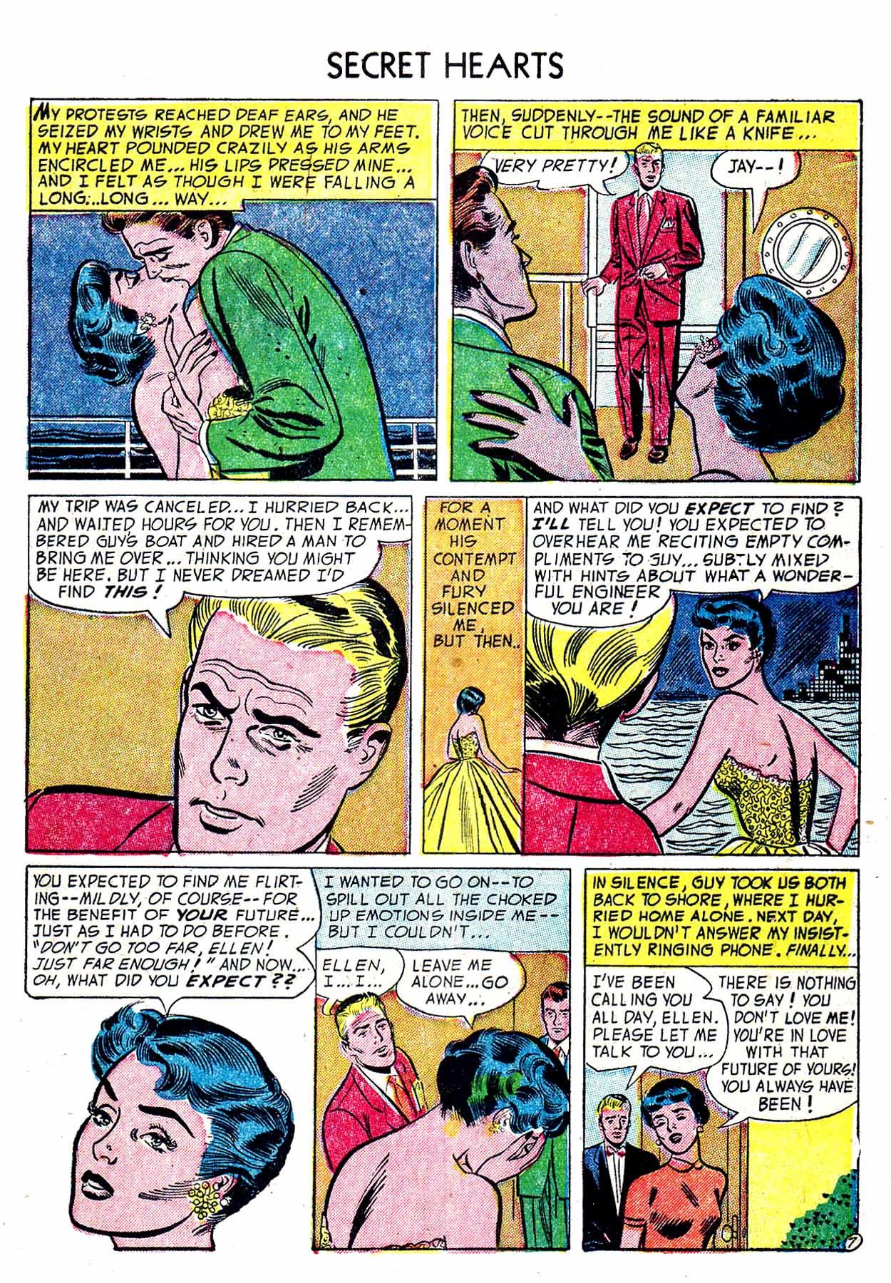 Read online Secret Hearts comic -  Issue #19 - 9