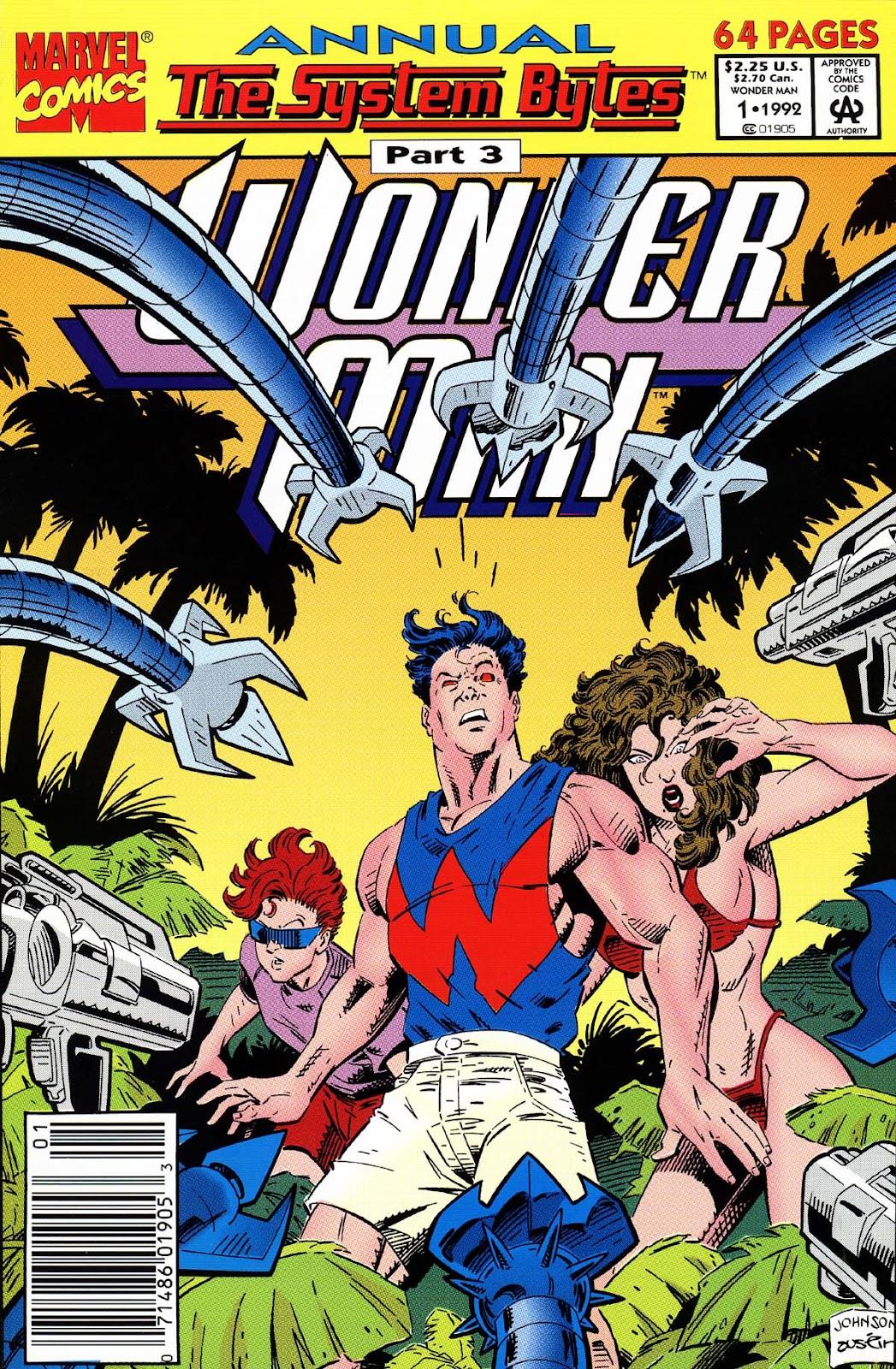Wonder Man (1991) _Annual_1 Page 1