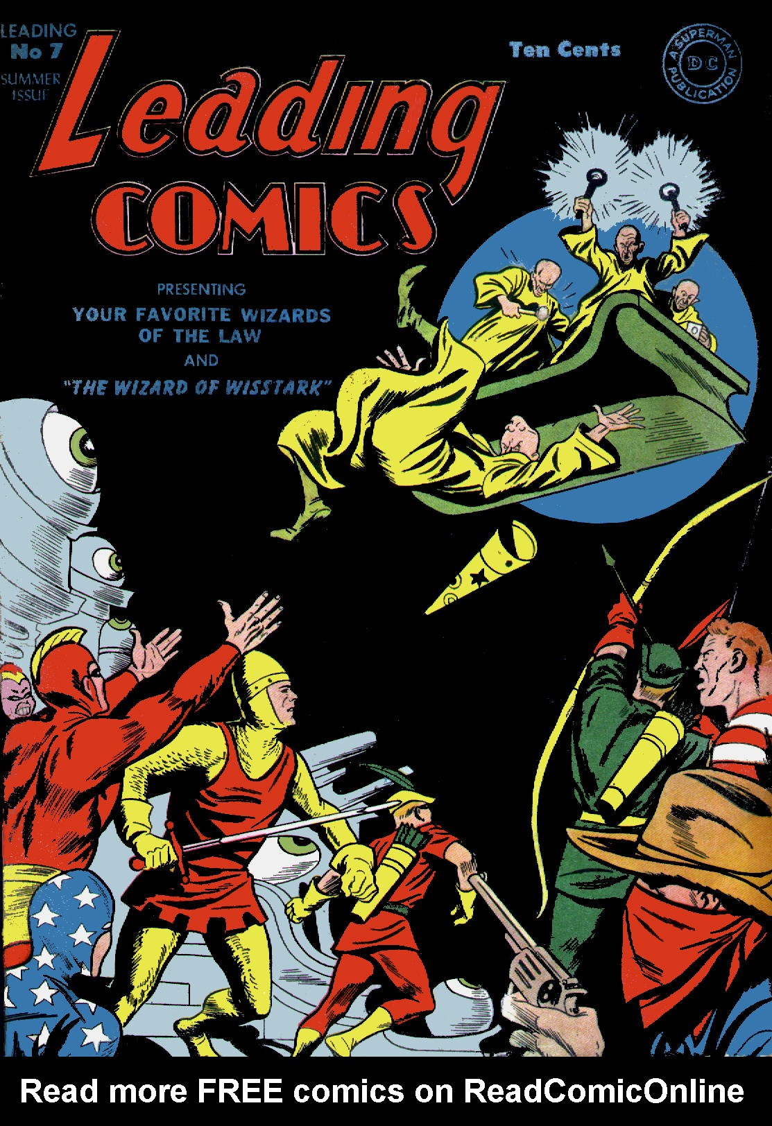 Leading Comics 7 Page 1