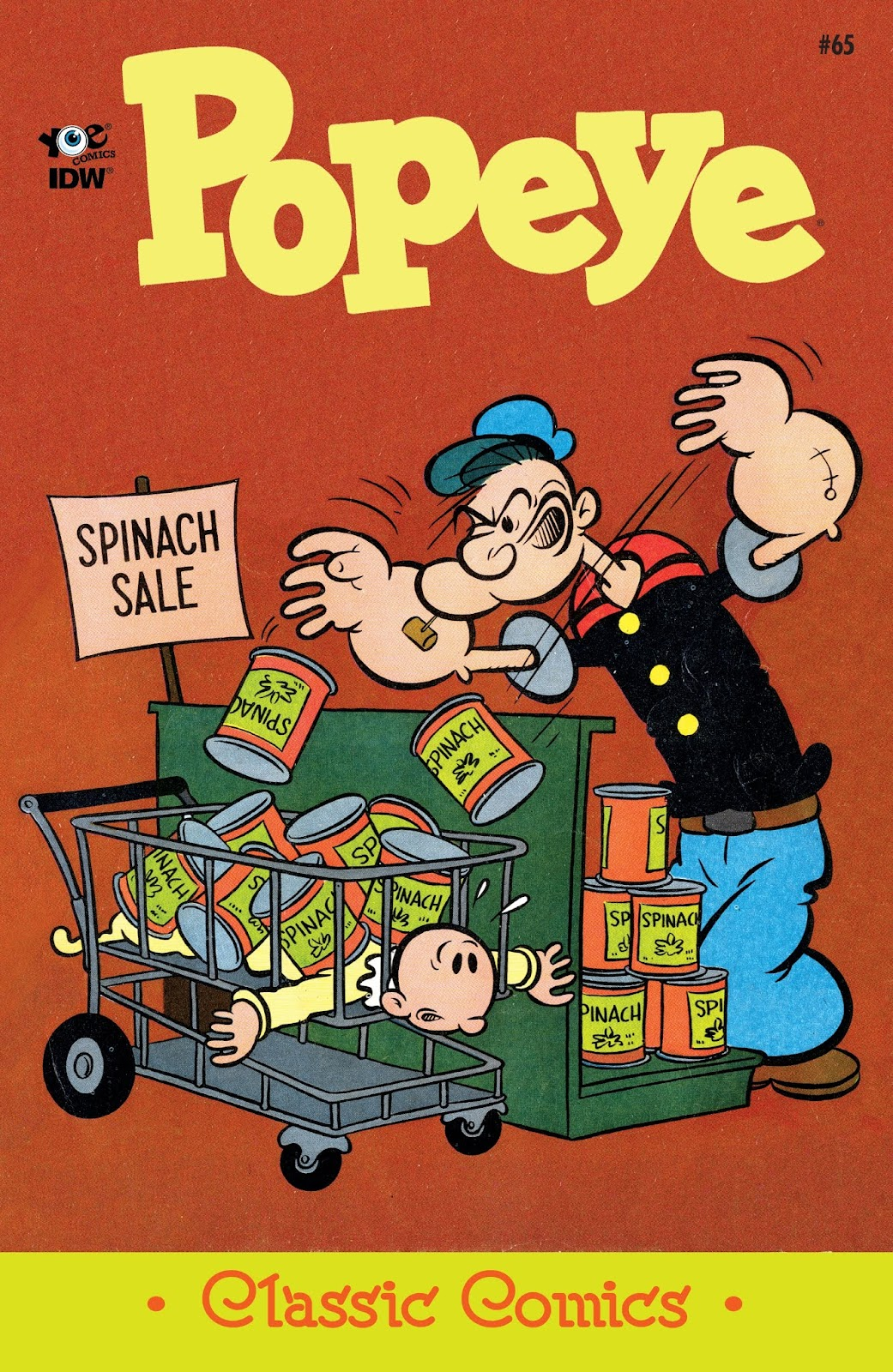 Classic Popeye issue 65 - Page 1