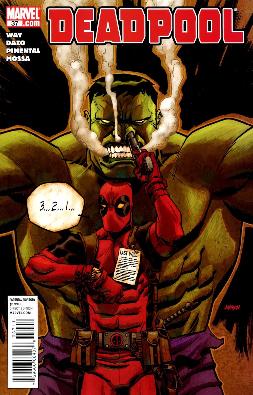 Read online Deadpool (2008) comic -  Issue #37 - 1