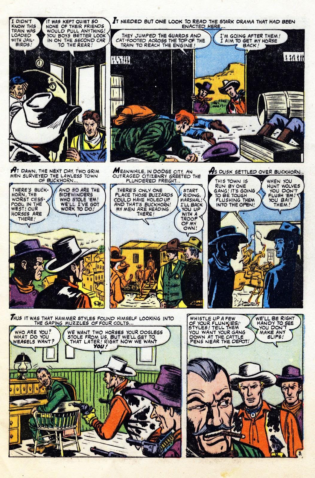 Gunsmoke Western issue 36 - Page 5