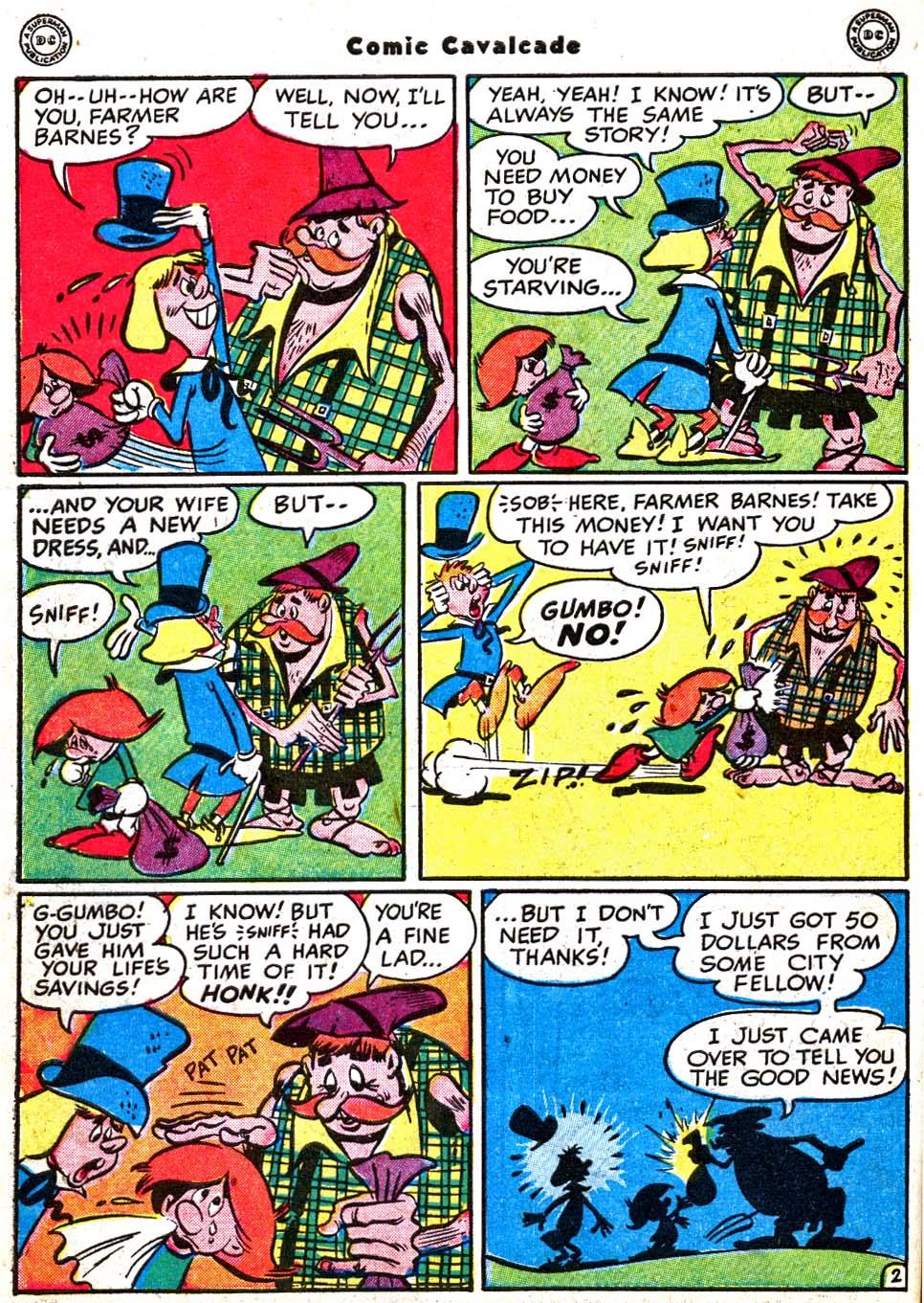 Comic Cavalcade issue 31 - Page 44