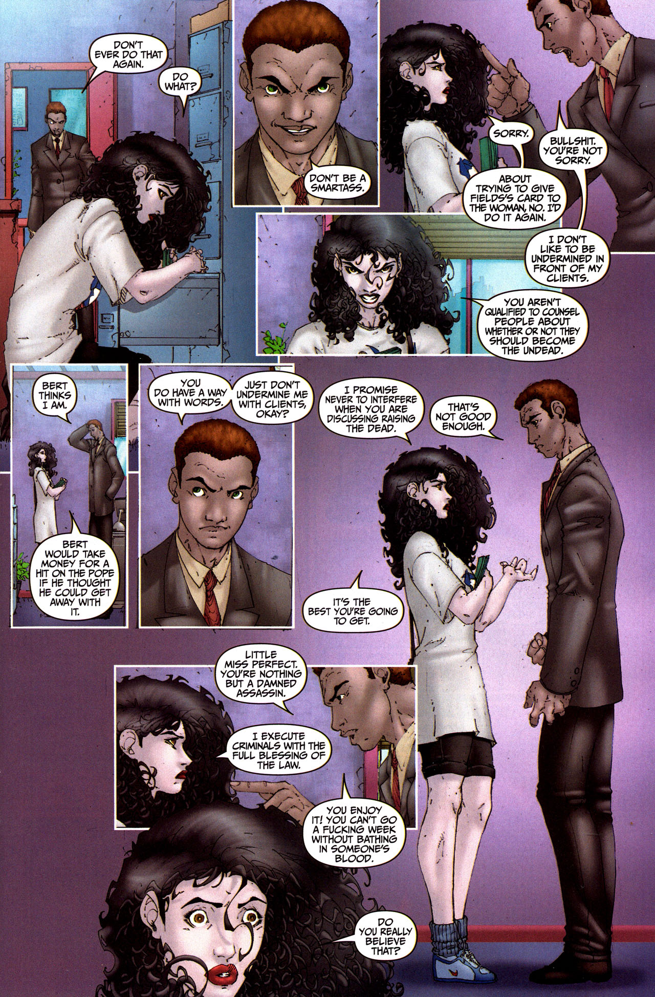 Read online Anita Blake, Vampire Hunter: Guilty Pleasures comic -  Issue #5 - 9