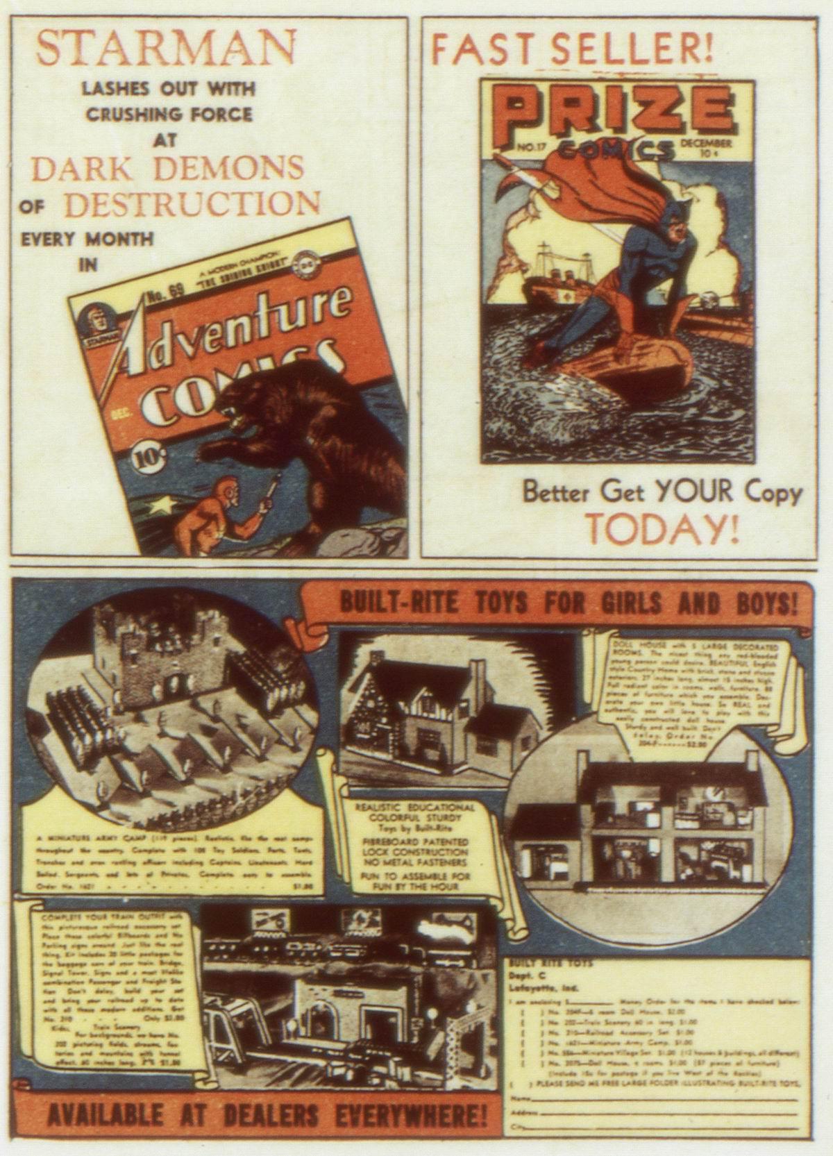Read online Detective Comics (1937) comic -  Issue #58 - 37
