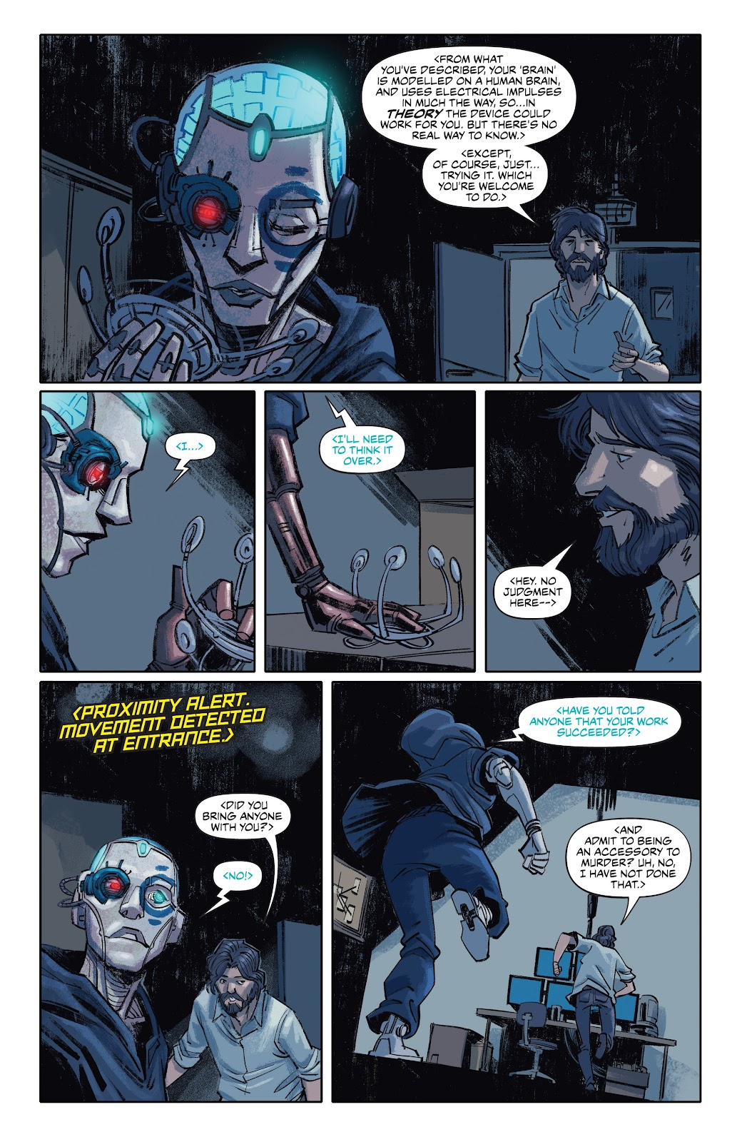 Read online Self/Made comic -  Issue #5 - 19