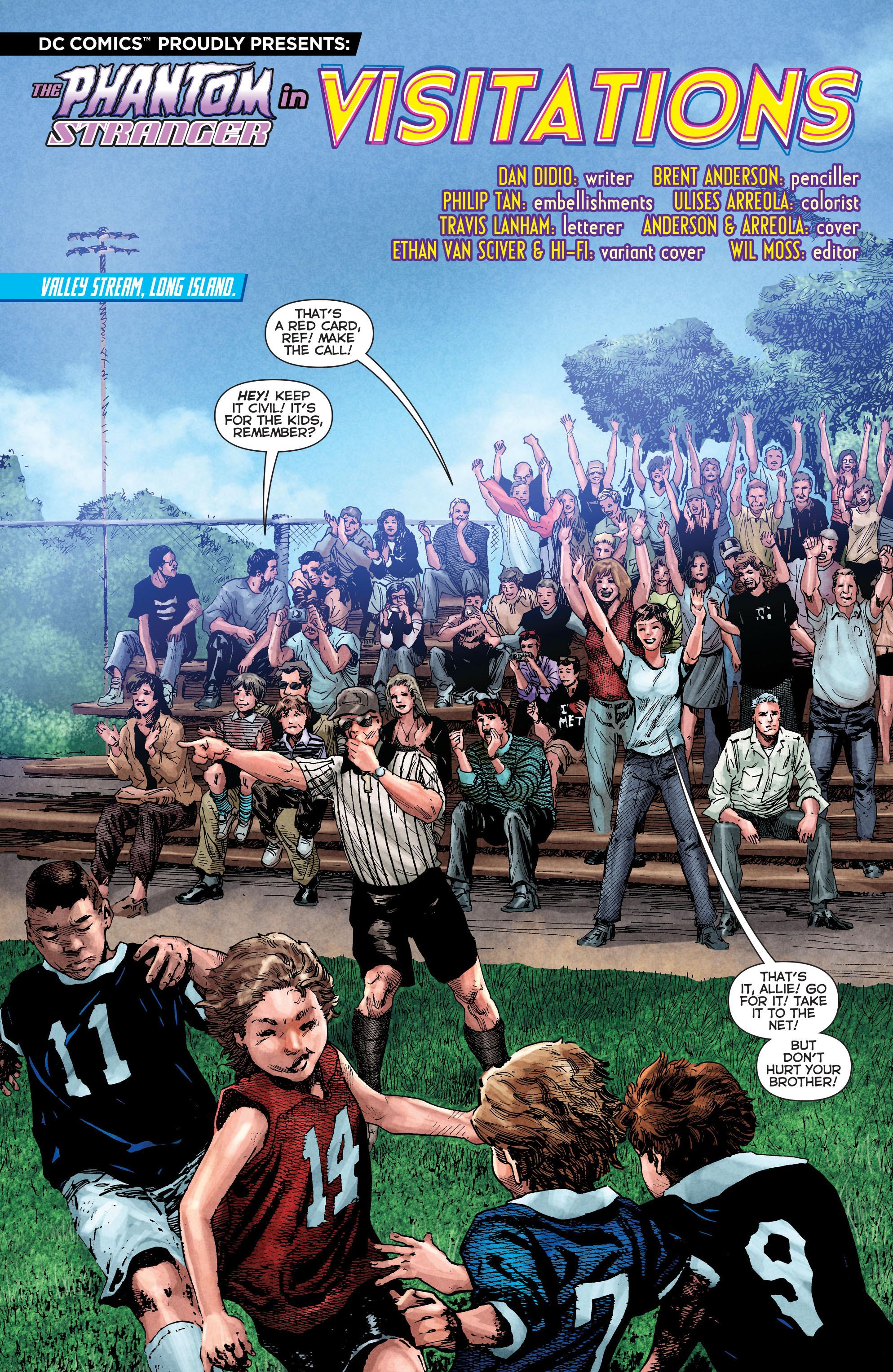 Read online Trinity of Sin: The Phantom Stranger comic -  Issue #2 - 2