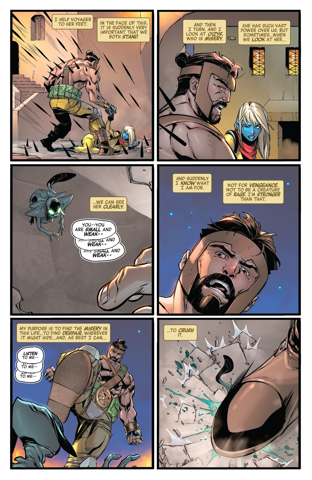Read online Avengers No Road Home comic -  Issue #8 - 19