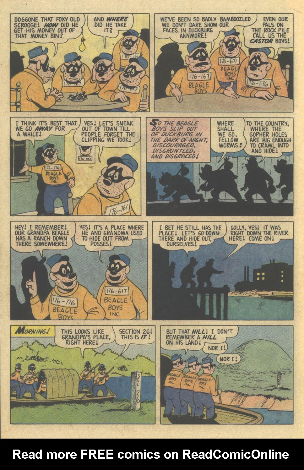 Read online Uncle Scrooge (1953) comic -  Issue #209 - 18